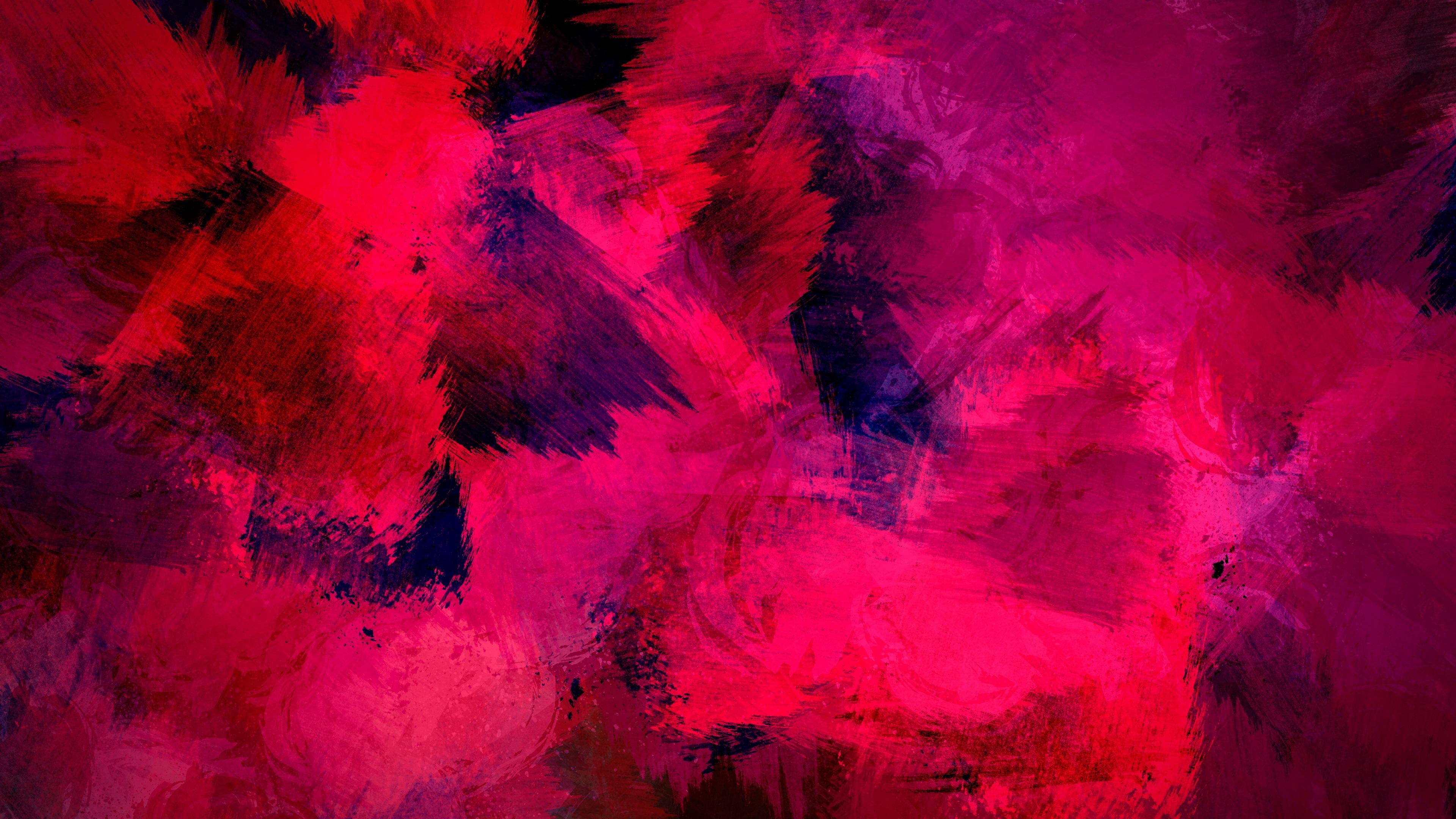 Wallpaper Fundo Tela Color Abstrato Iphone: Papéis De Parede Textura De Tinta Rosa, Fundo Abstrato