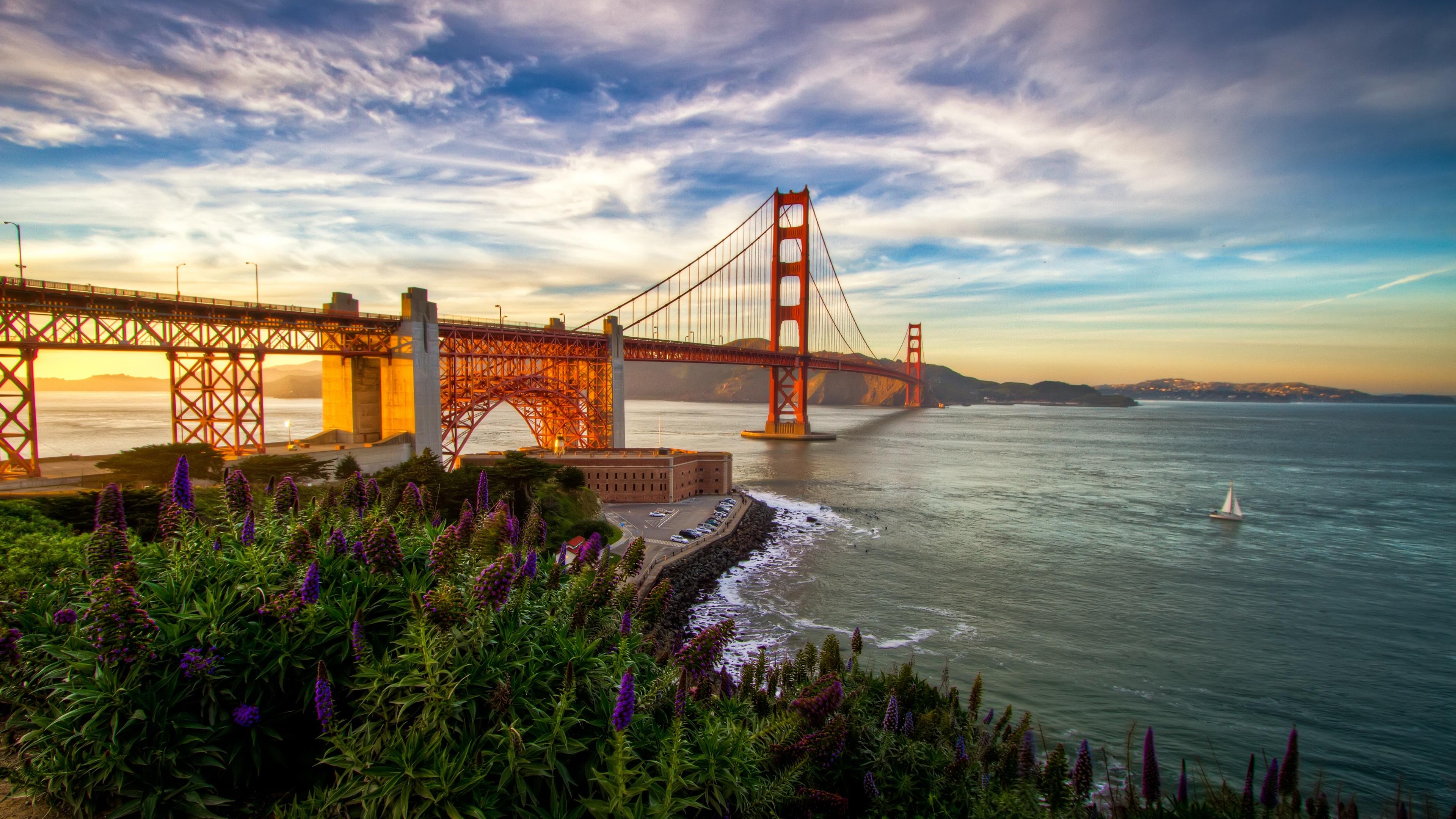 Fondos De Pantalla San Francisco Puente Mar California