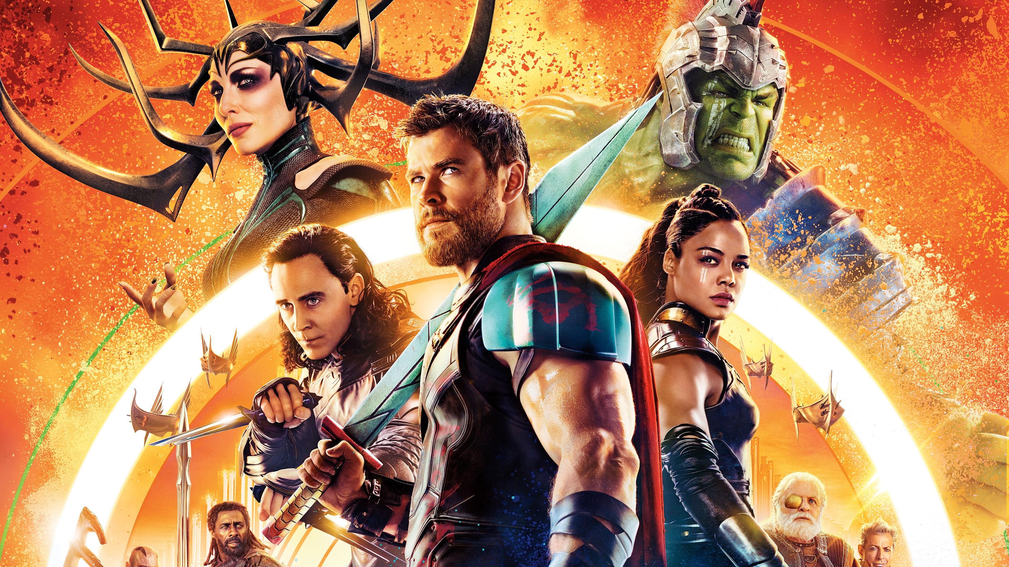 Wallpaper Thor Ragnarok 3840x2160 Uhd 4k Picture Image