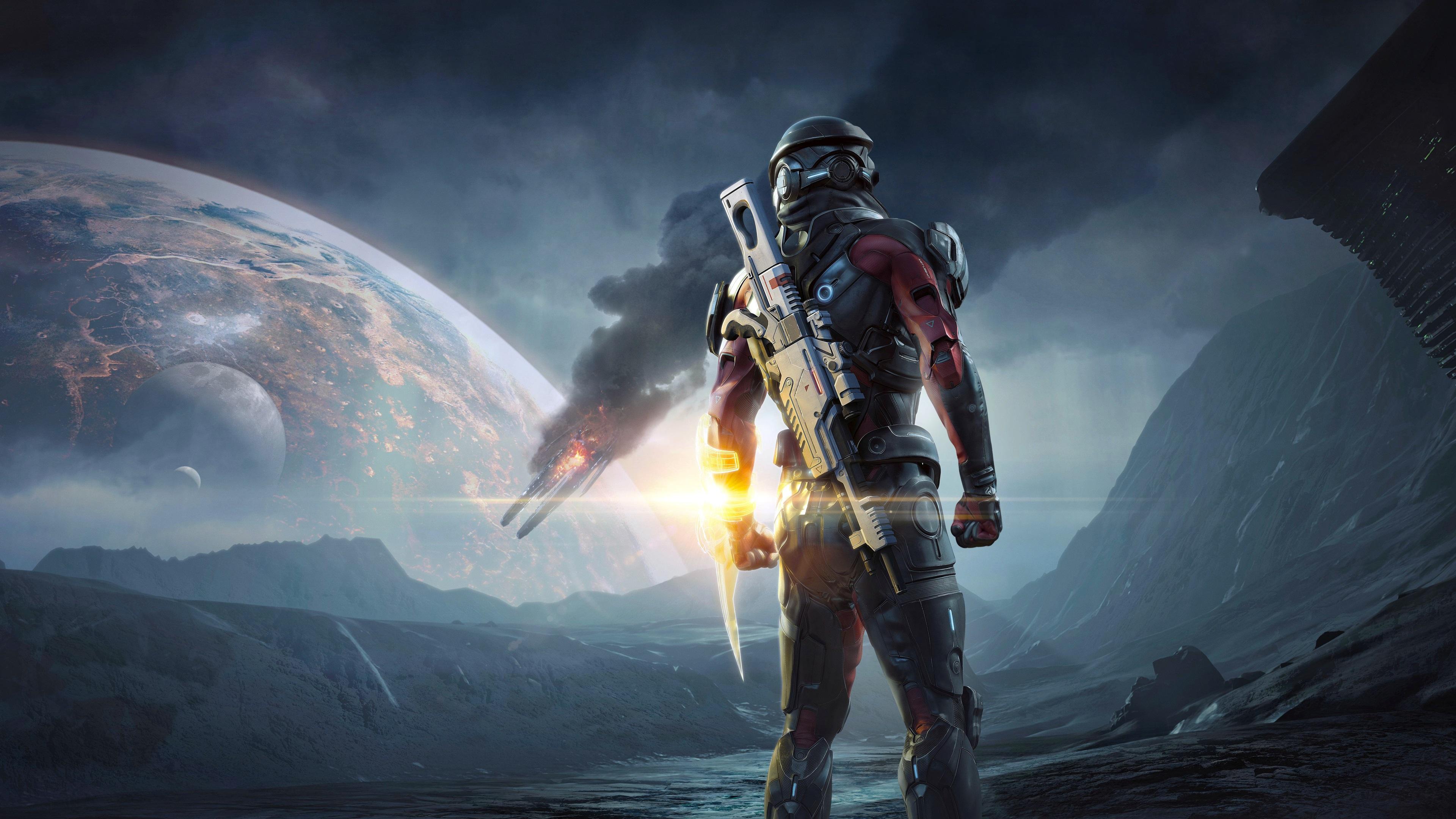 Fondos De Pantalla Mass Effect: Andromeda, Juegos De PS4
