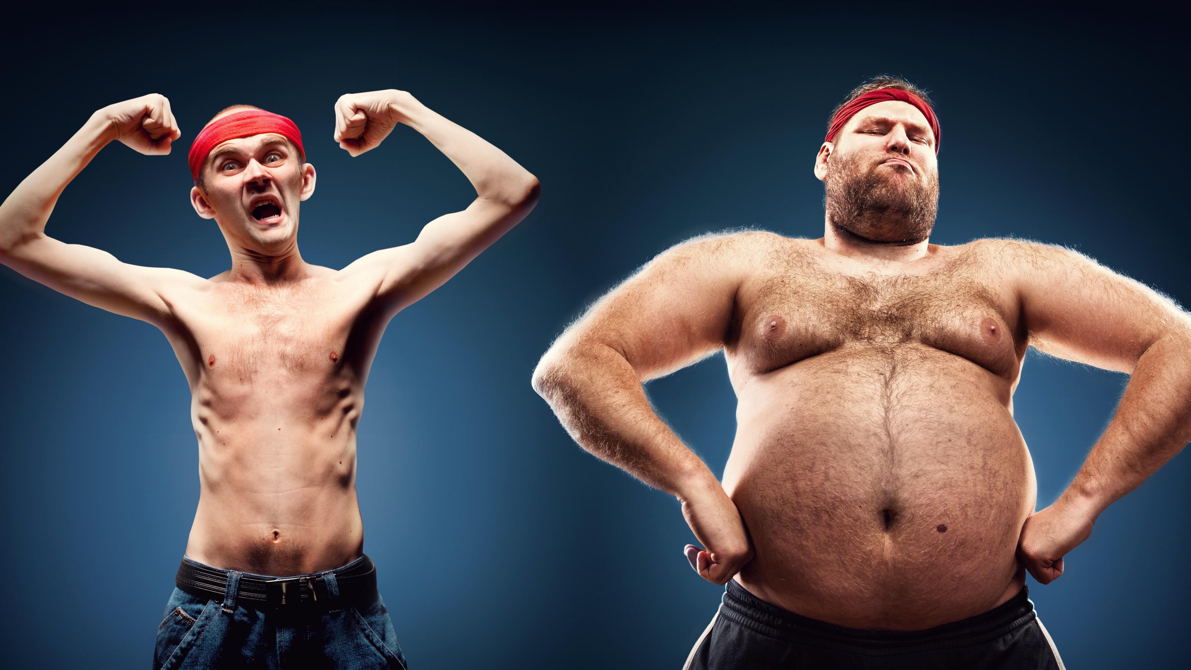 fette männer