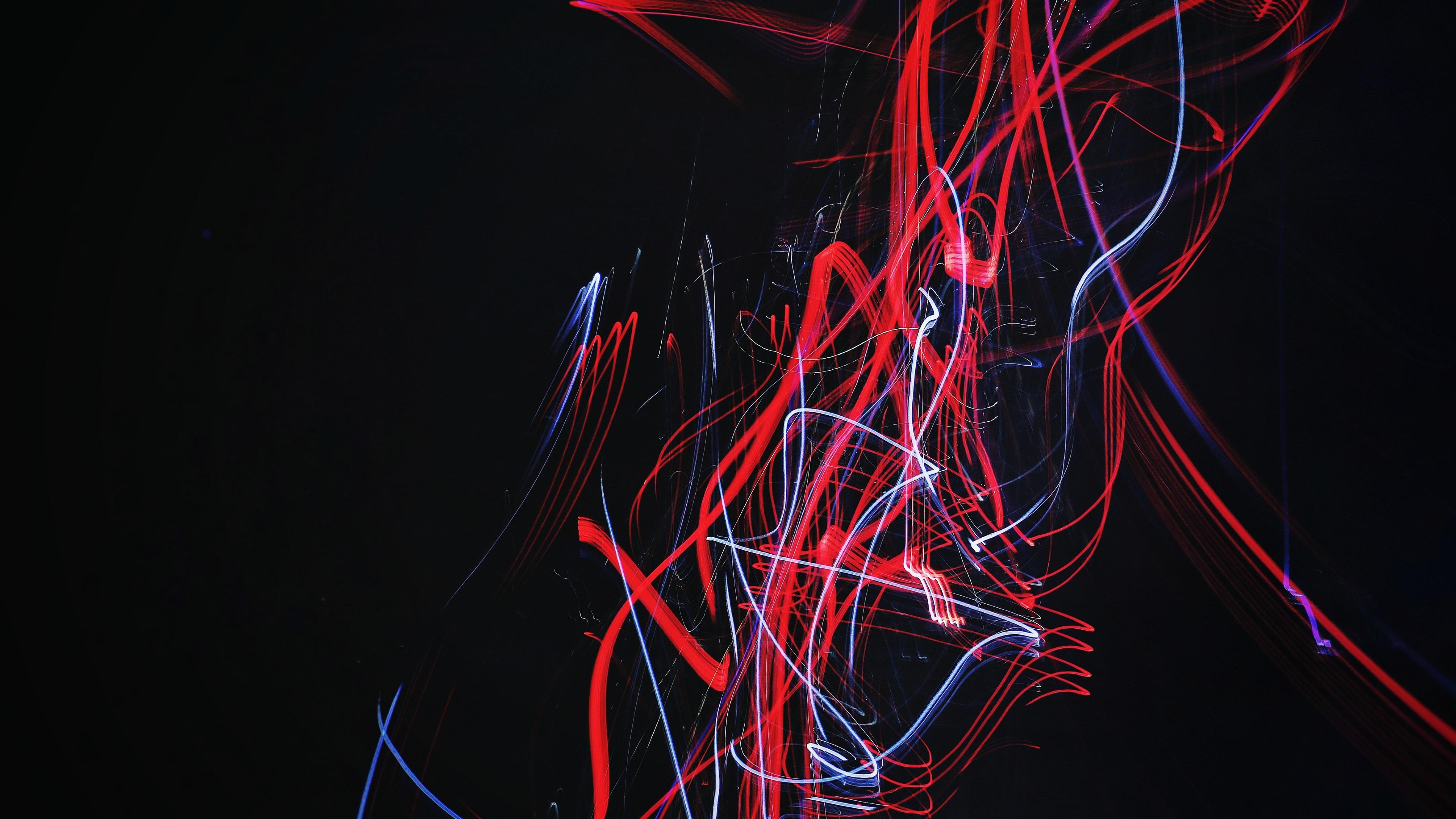 Fondo De Pantalla Abstracto Barras De Colores: Fondos De Pantalla Rayas De Colores, Fondo Negro