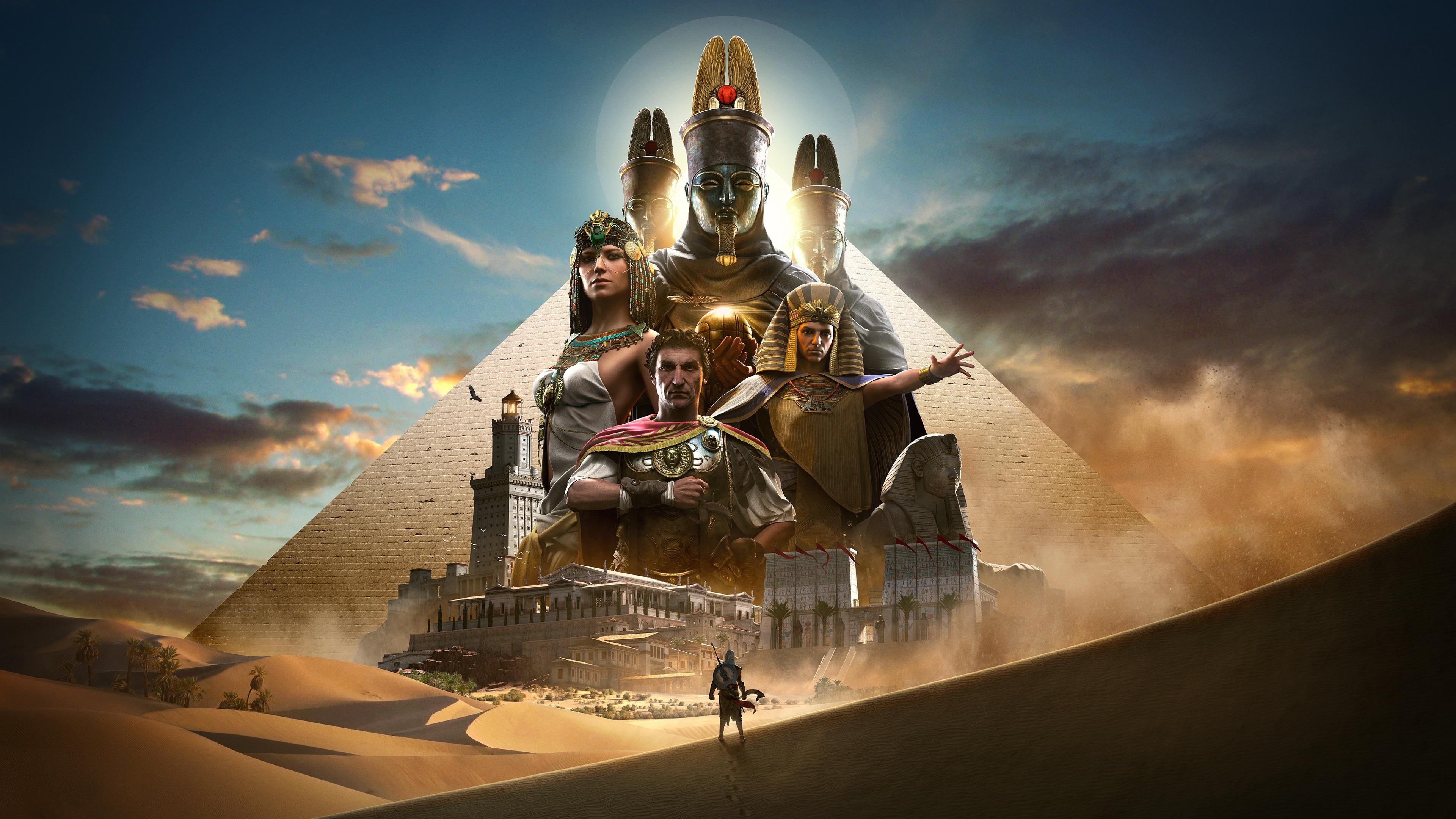 2018 Assassins Creed Origins 4k Hd Games 4k Wallpapers: Download Wallpaper 3840x2160 Assassin's Creed: Origins