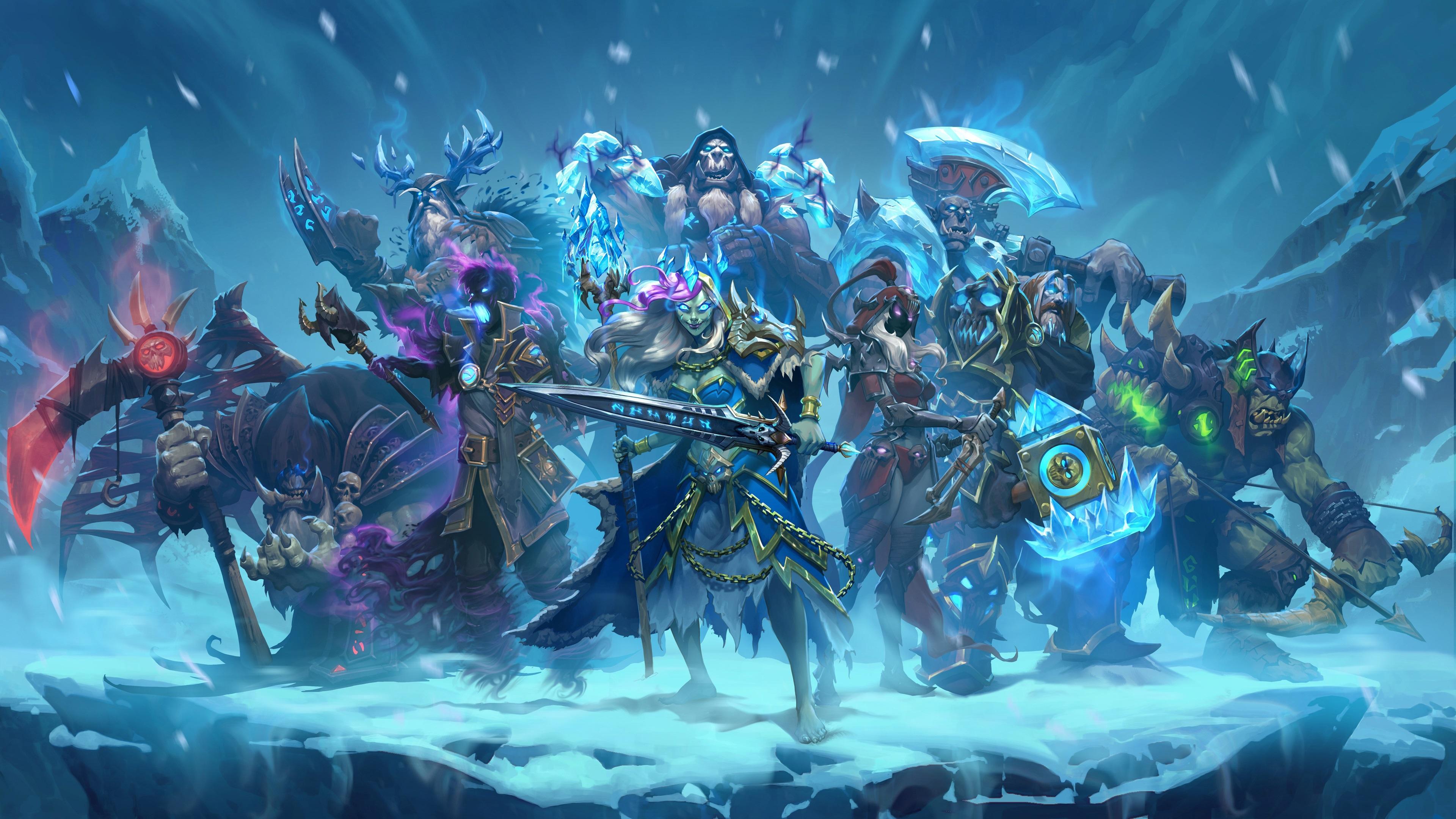 壁纸冰封王座的骑士3840x2160 Uhd 4k 高清壁纸 图片 照片