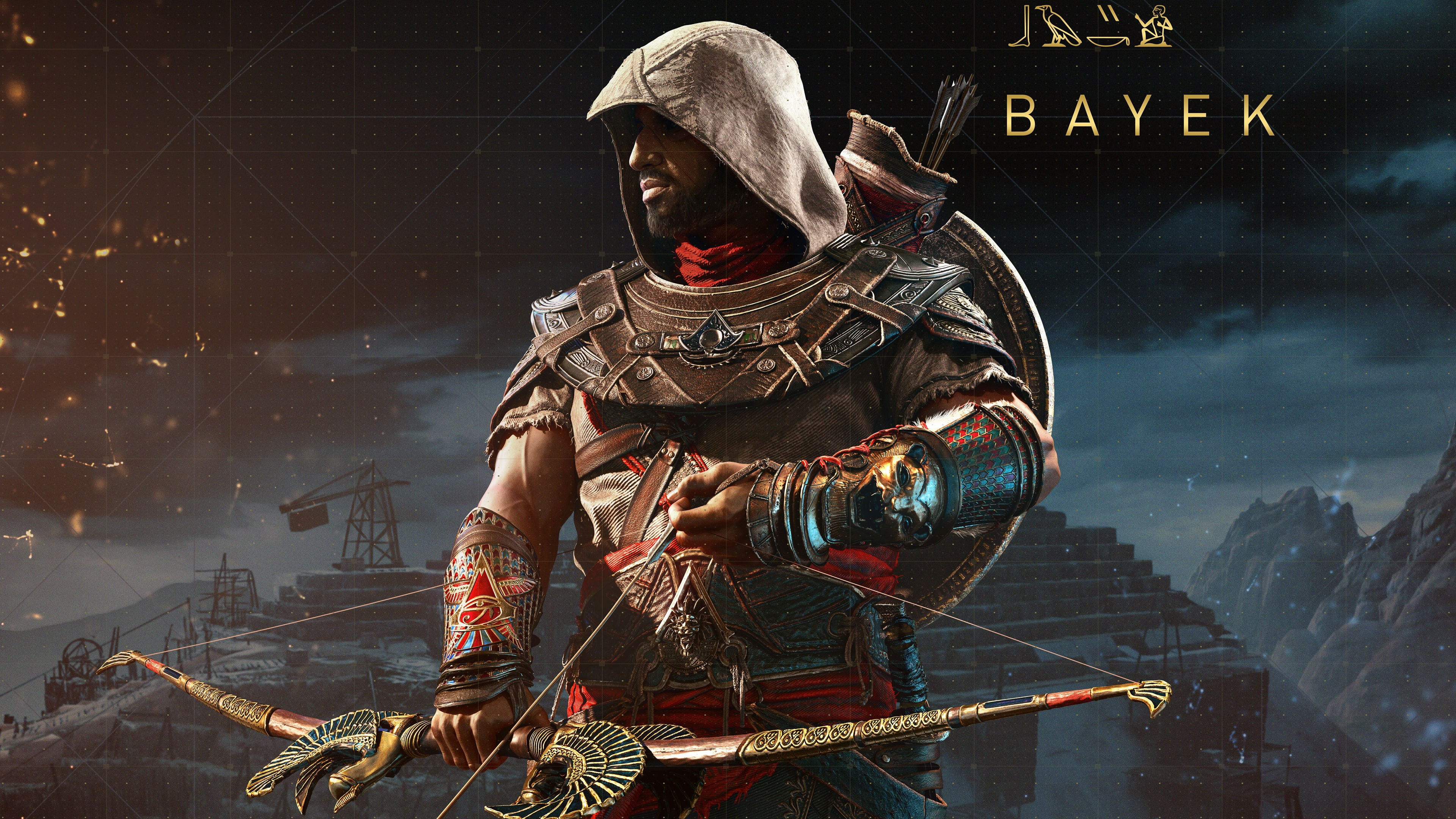 Wallpaper Bayek Assassins Creed Origins 3840x2160 Uhd 4k