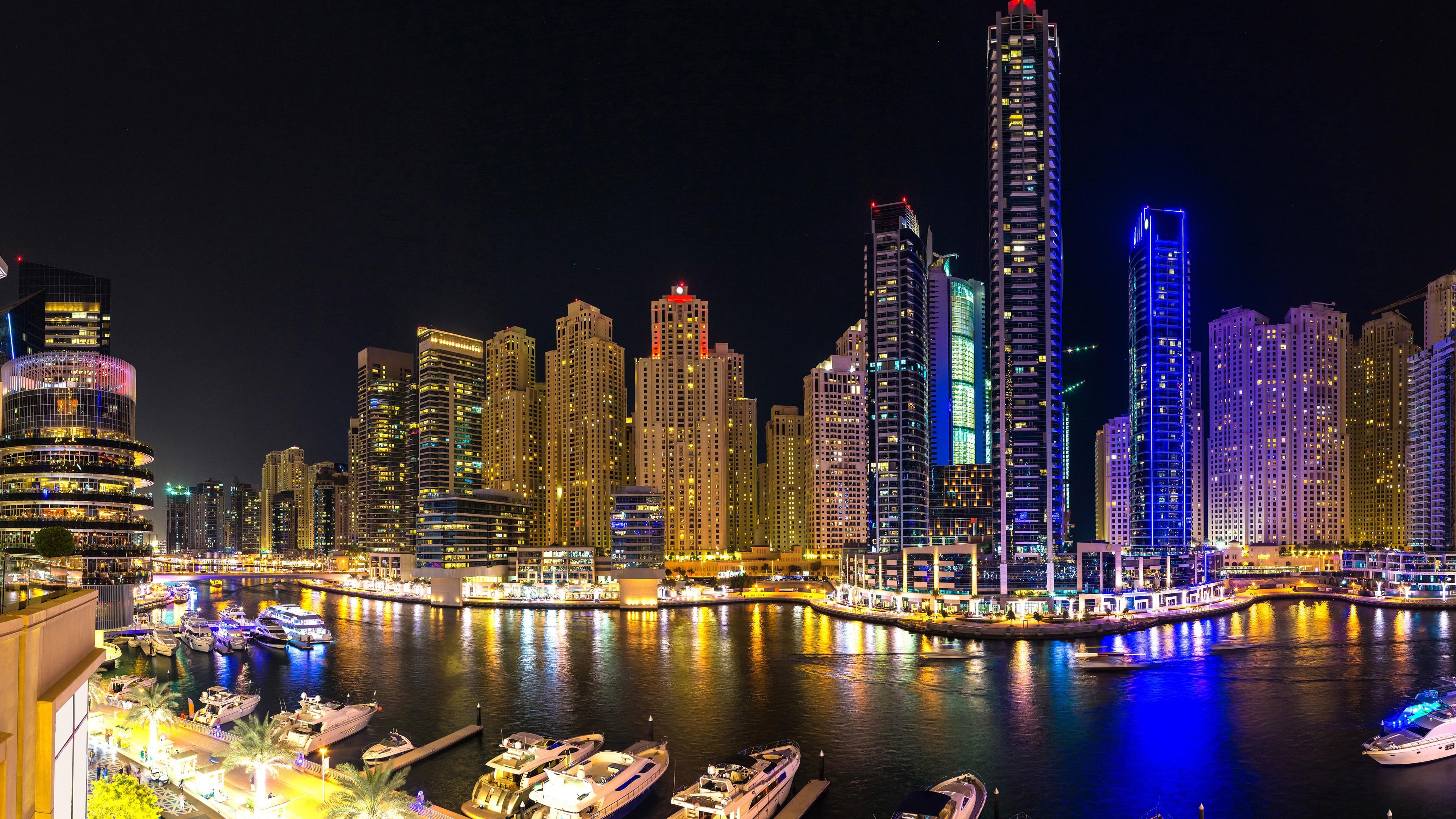 3840x2160 uhd 4k - Night light city wallpaper ...