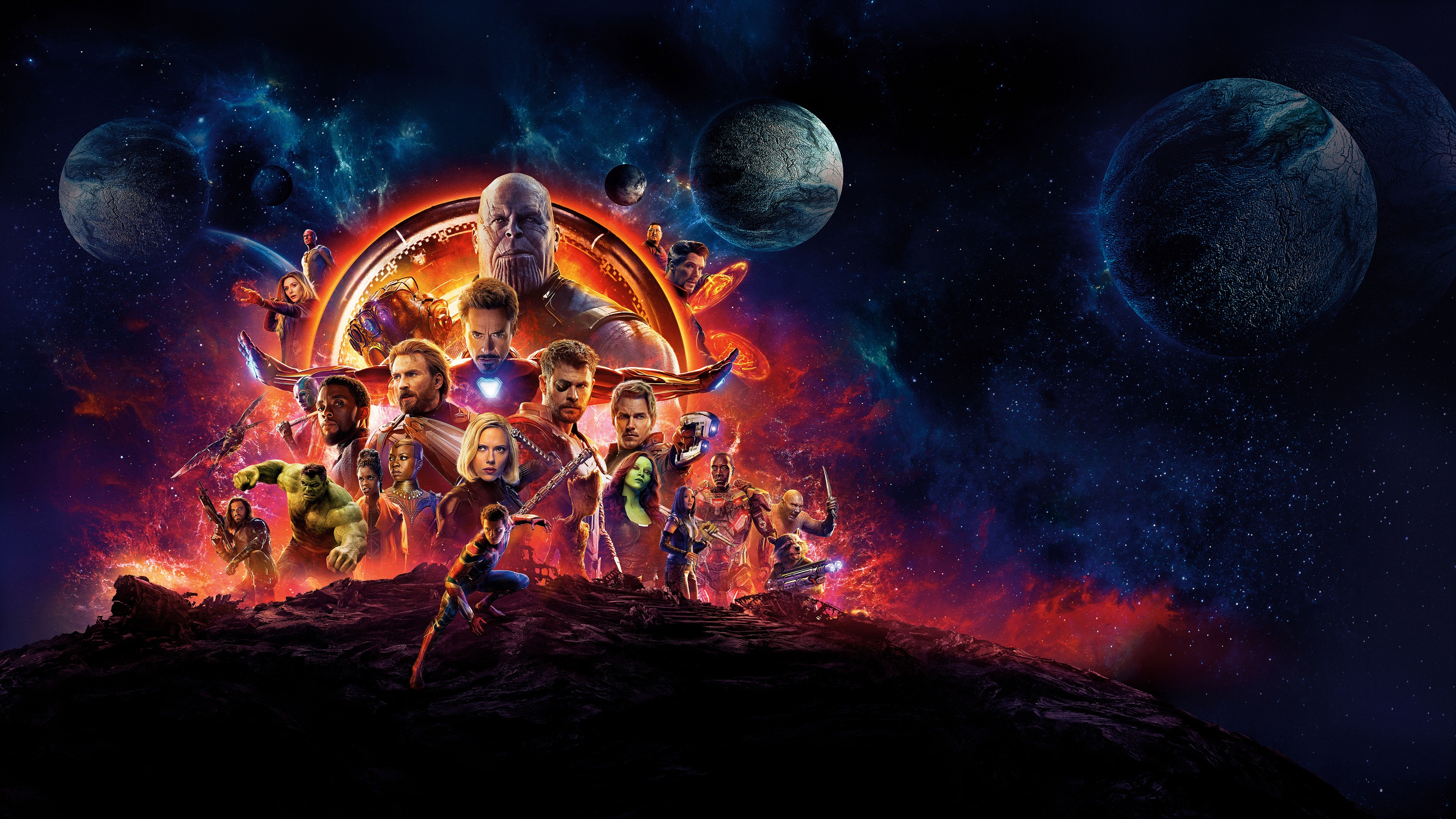 Fonds D écran Film Dc Comics Avengers 3 Guerre à L Infini