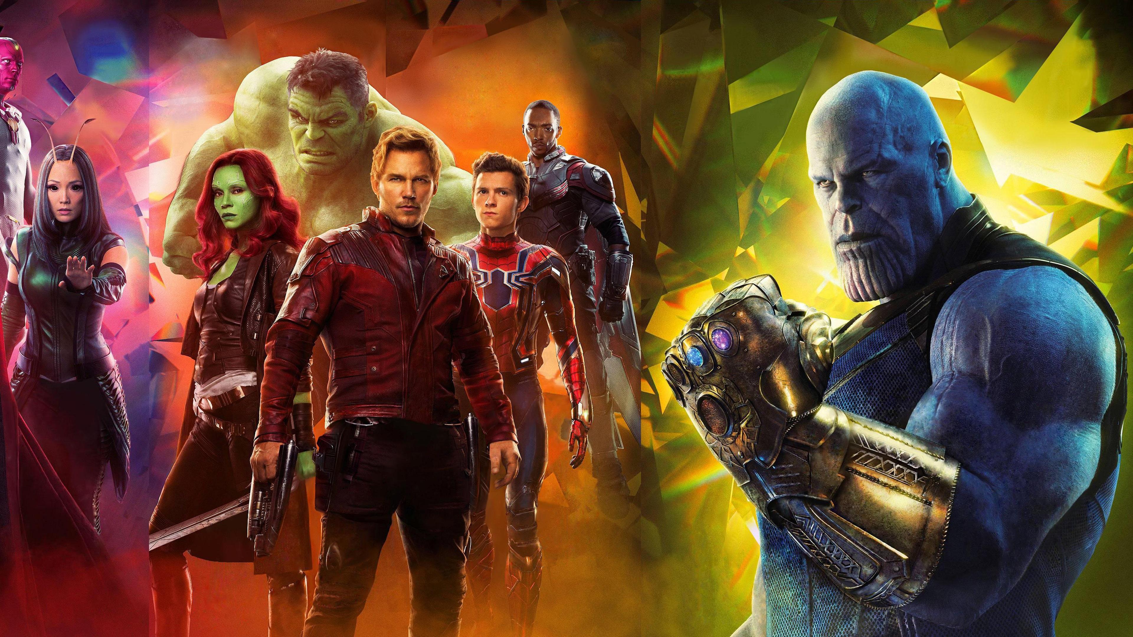 Avengers Infinity War 2018 Thanos 4k Uhd 3 2 3840x2560: Wallpaper Avengers: Infinity War, 2018 Movie, Superheroes