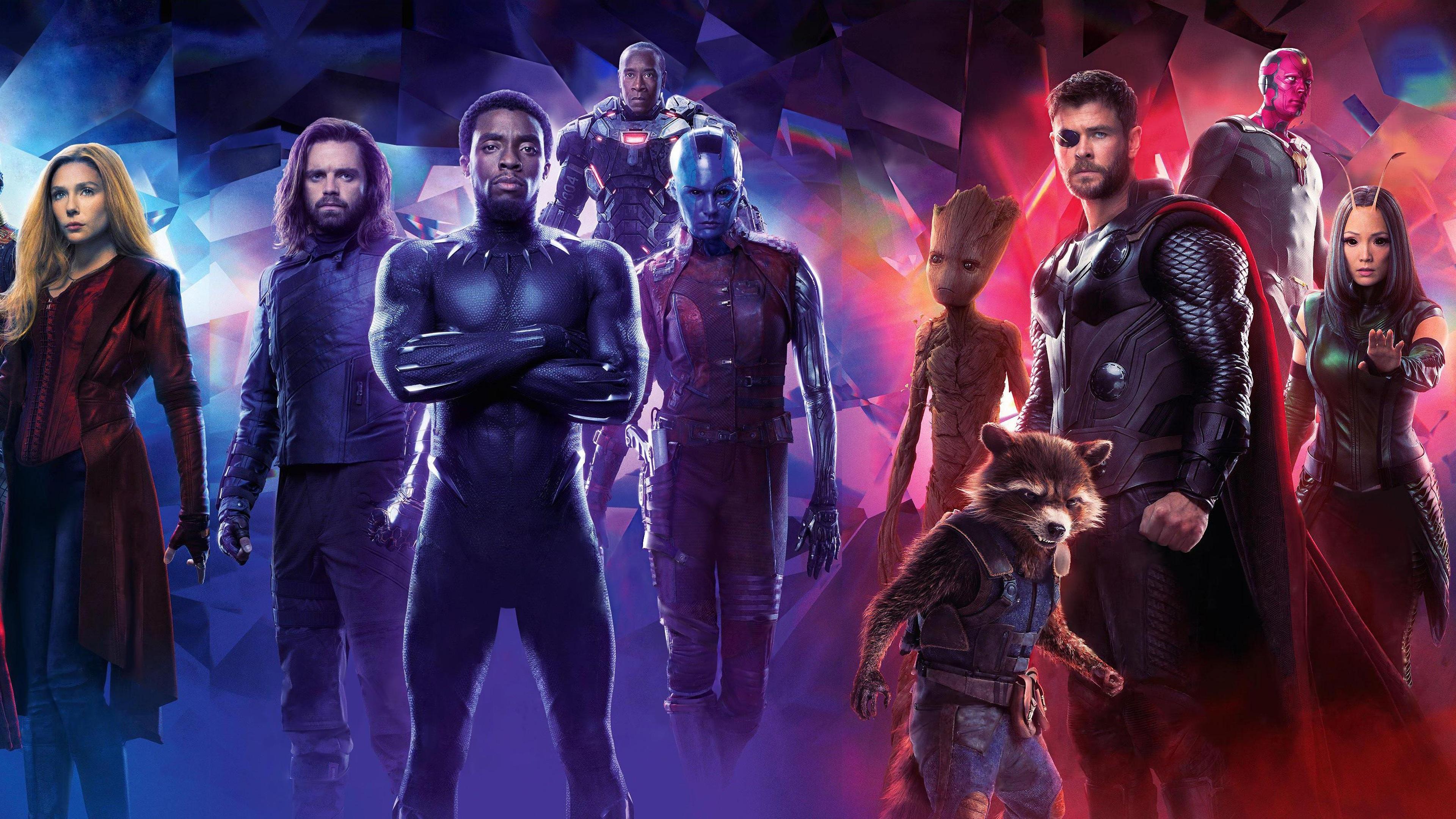 Fonds D écran Avengers Infinity War Les Super Héros