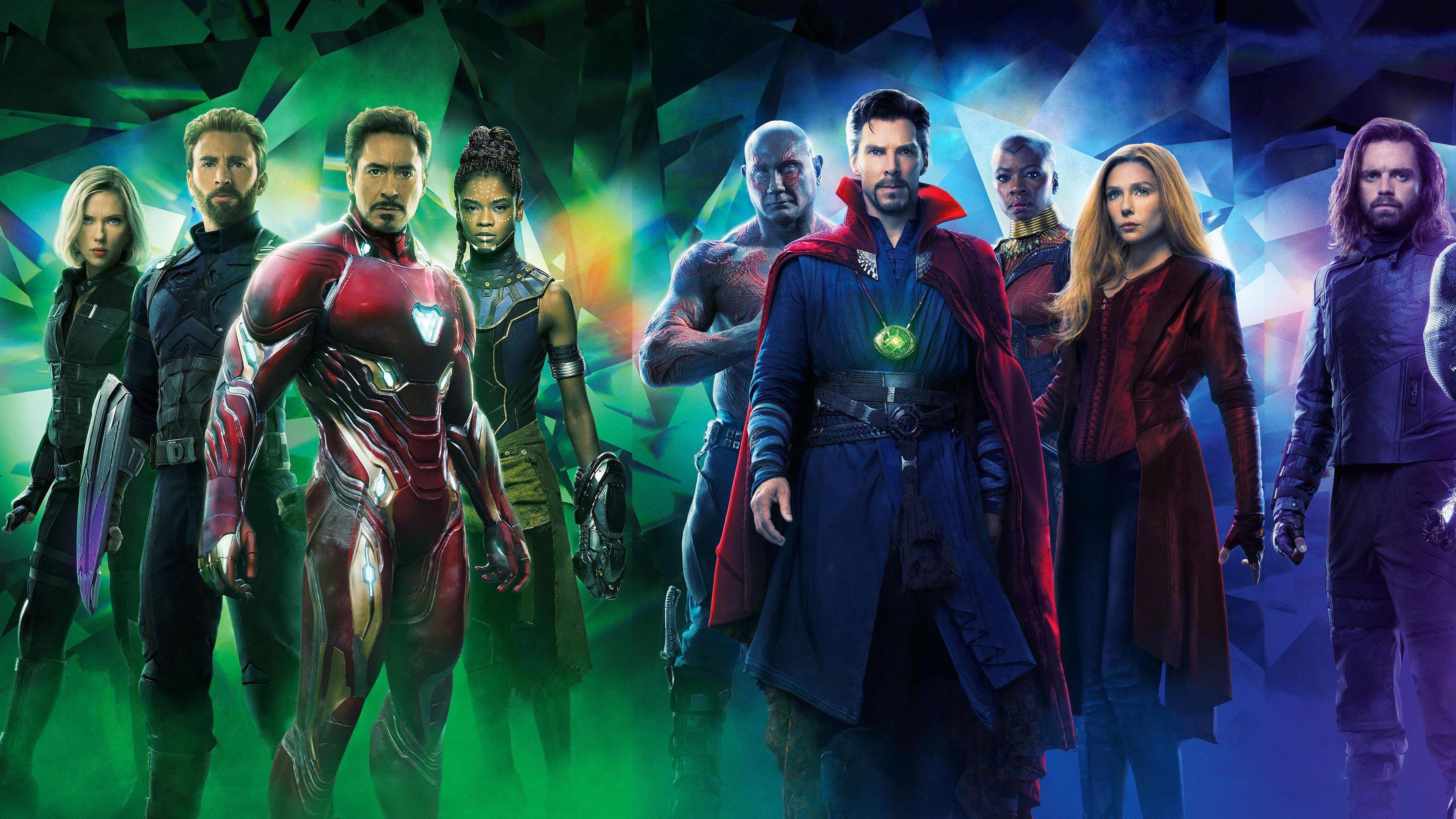 Wallpaper Hot Movie 2018 Avengers Infinity War 3840x2160