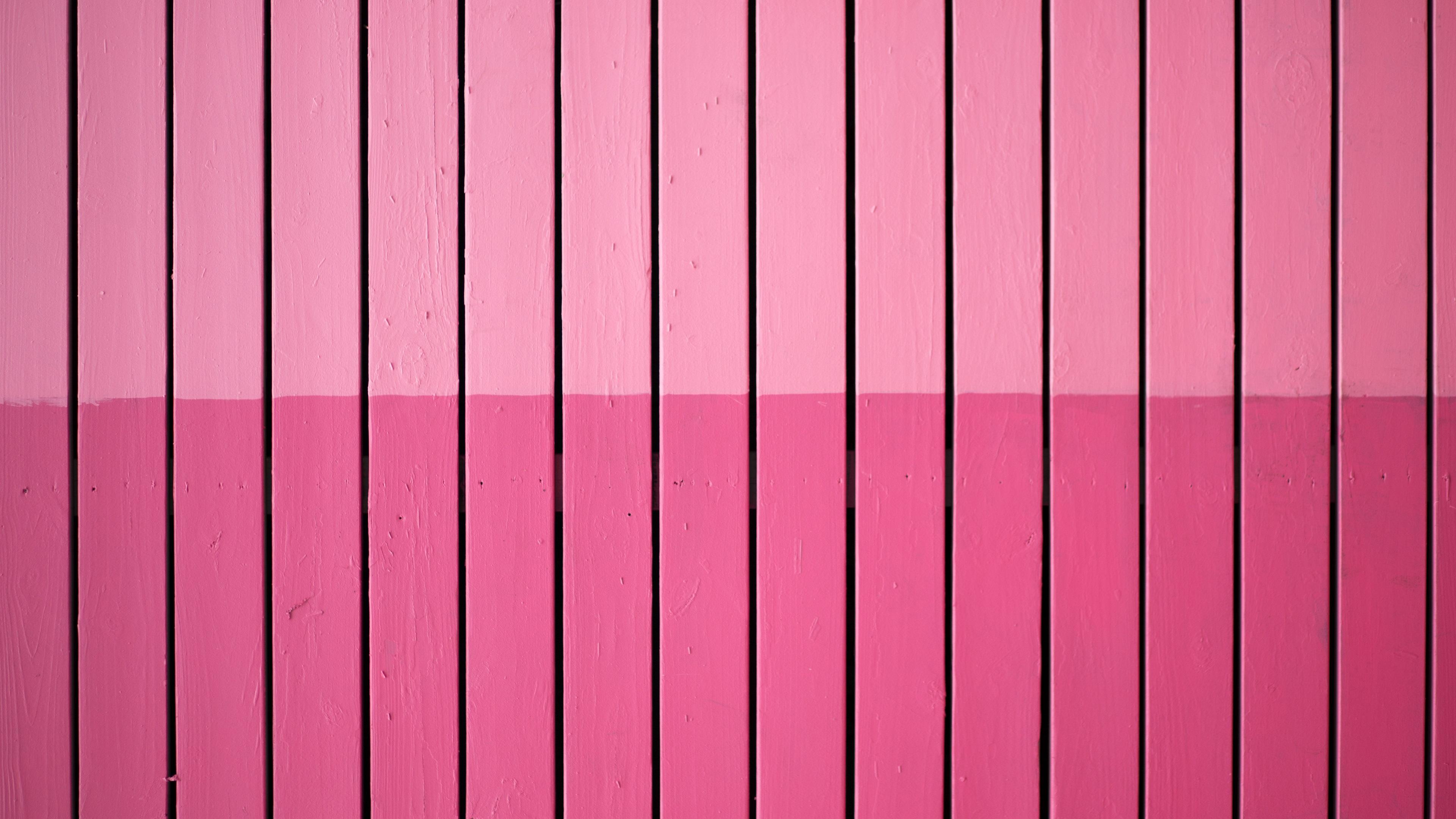 壁紙 ピンクの木製の縦線 3840x2160 Uhd 4k 無料のデスクトップの背景