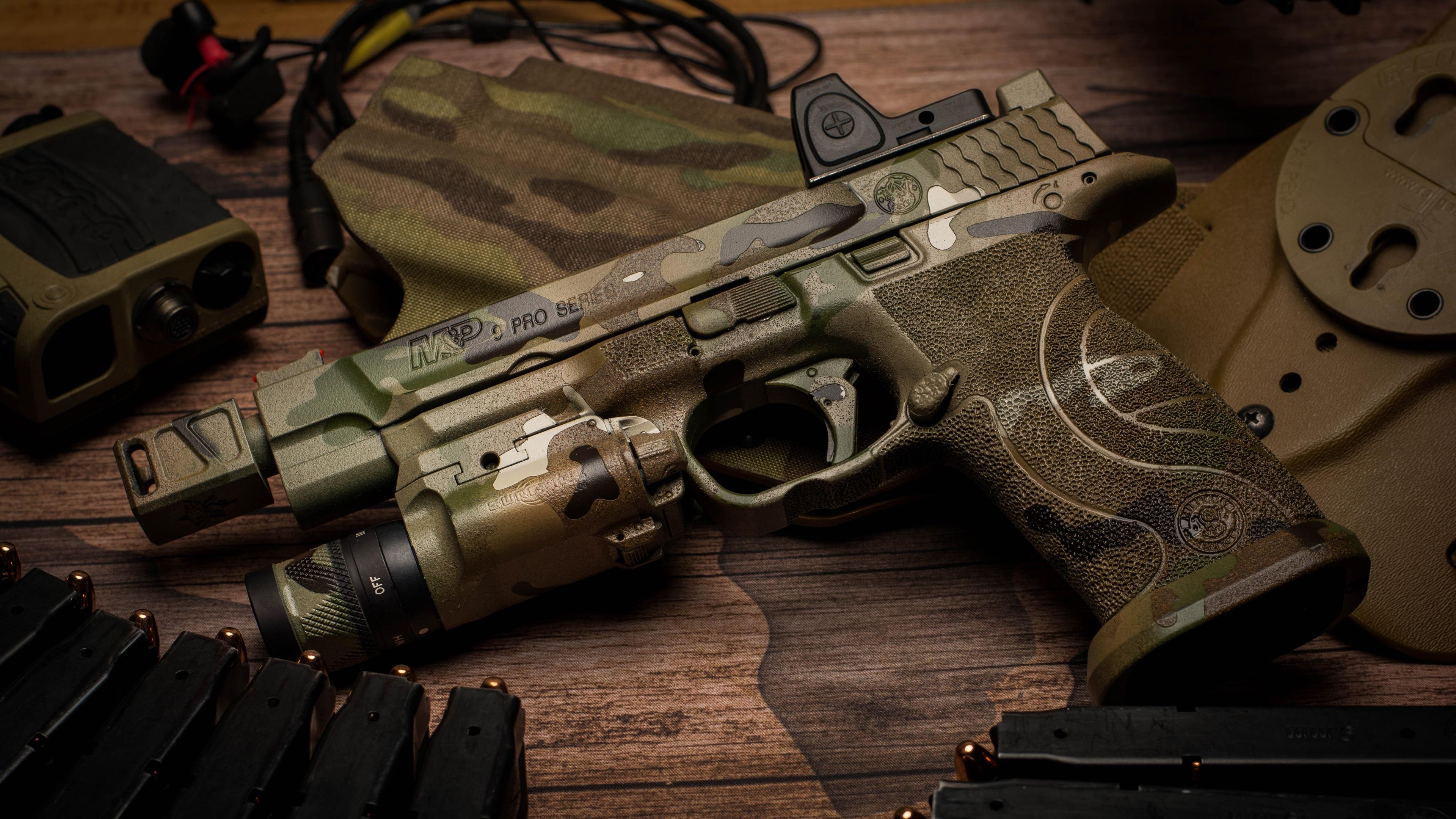 Pubg Weapon Master Wallpaper: Fonds D'écran Pistolet De Camouflage, Arme 3840x2160 UHD