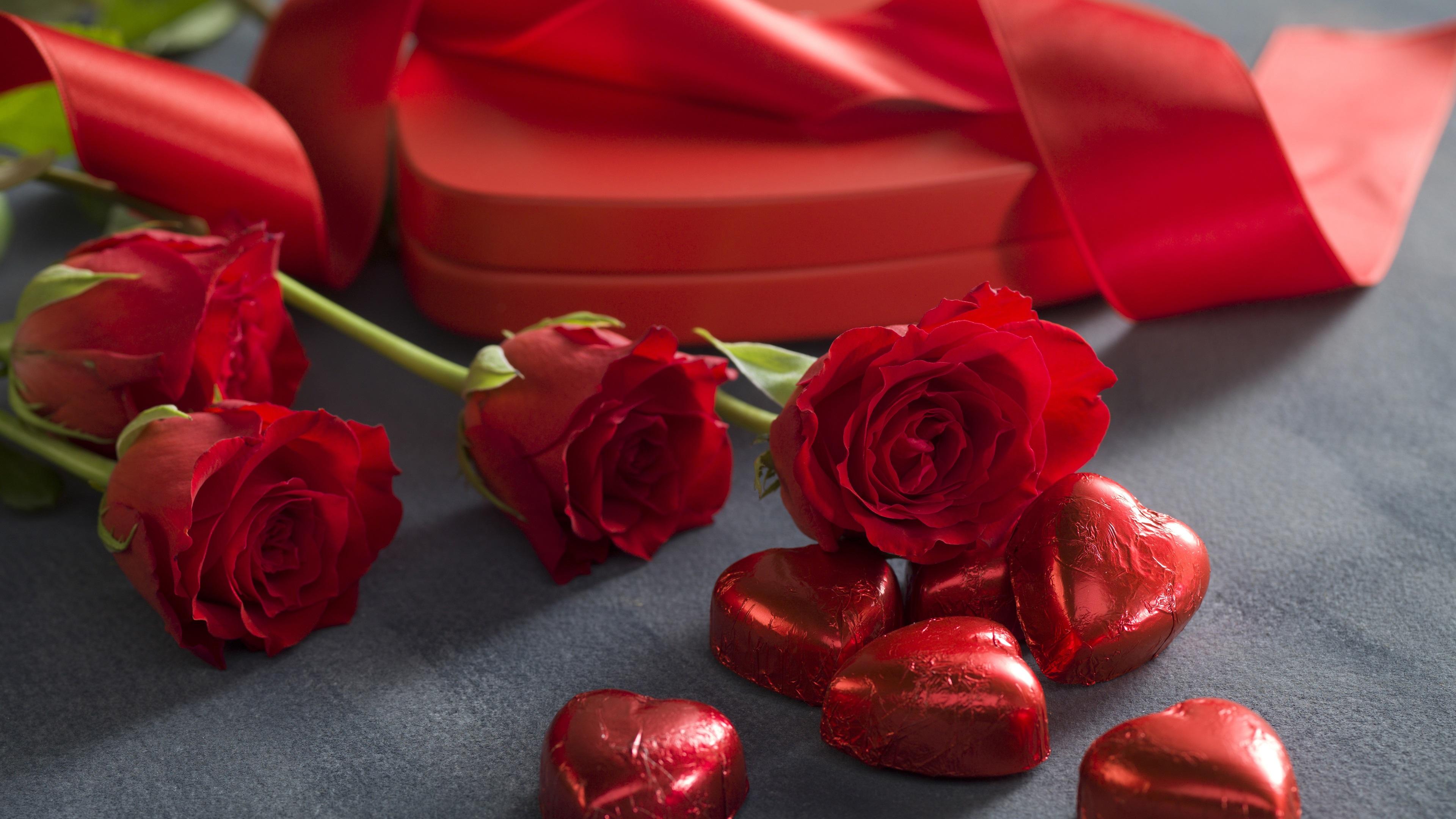 Fondos De Pantalla De Chocolates: Fondos De Pantalla Rosas Rojas, Amor Corazón Dulce