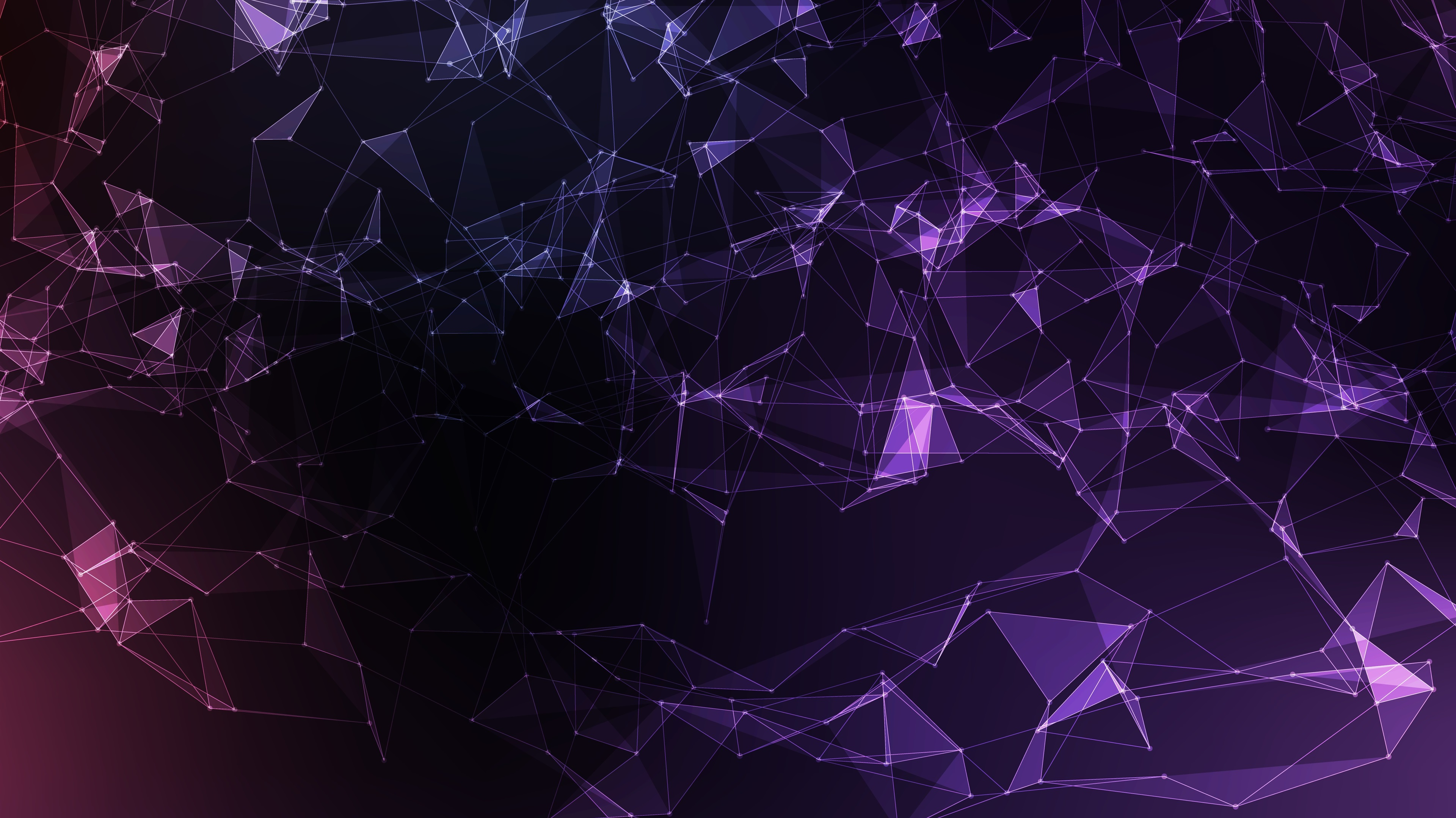 Wallpaper Abstract Mesh Vector Violet 3840x2160 Uhd 4k