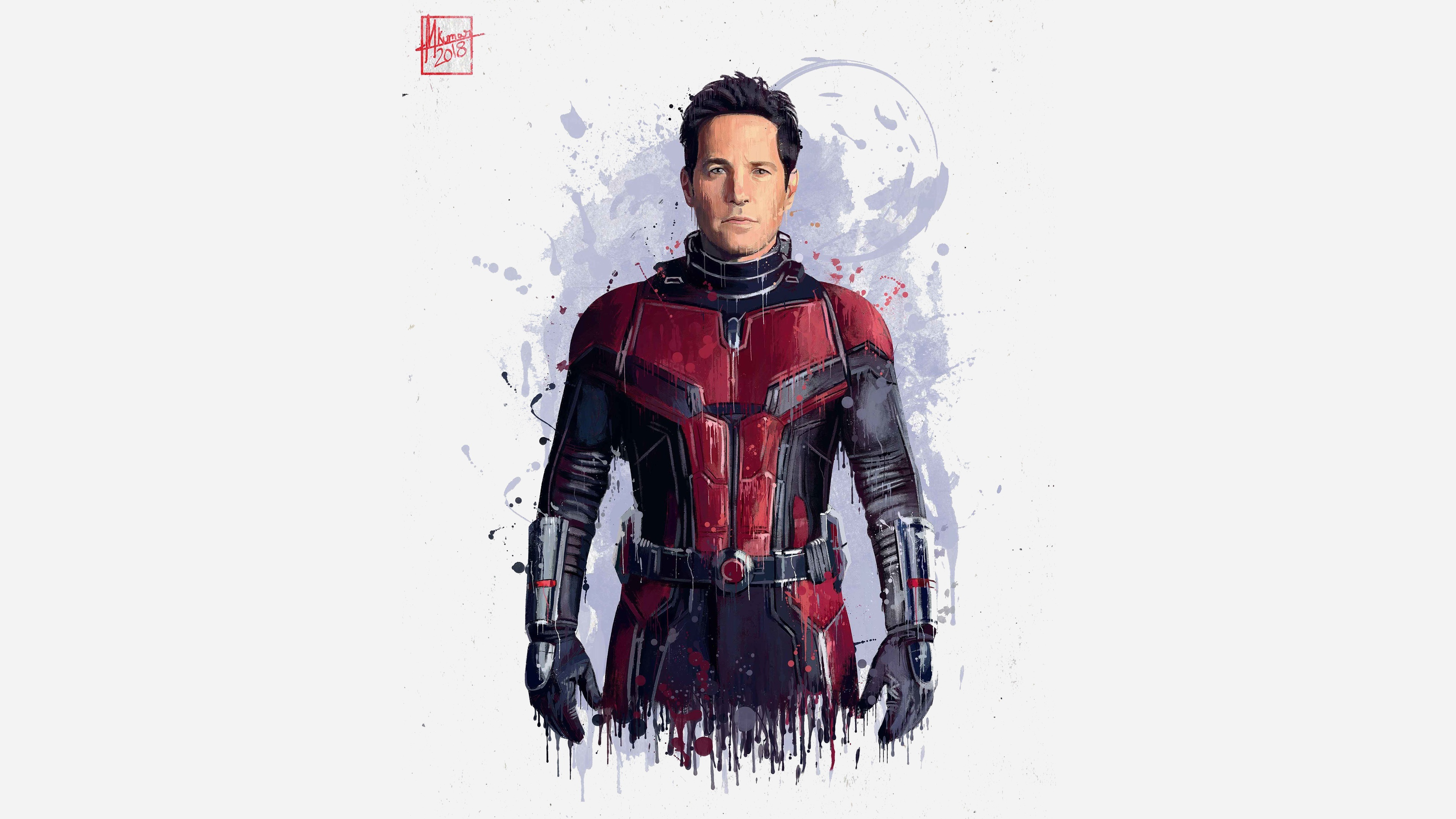 Wallpaper Ant Man The Avengers Infinity War Art Picture
