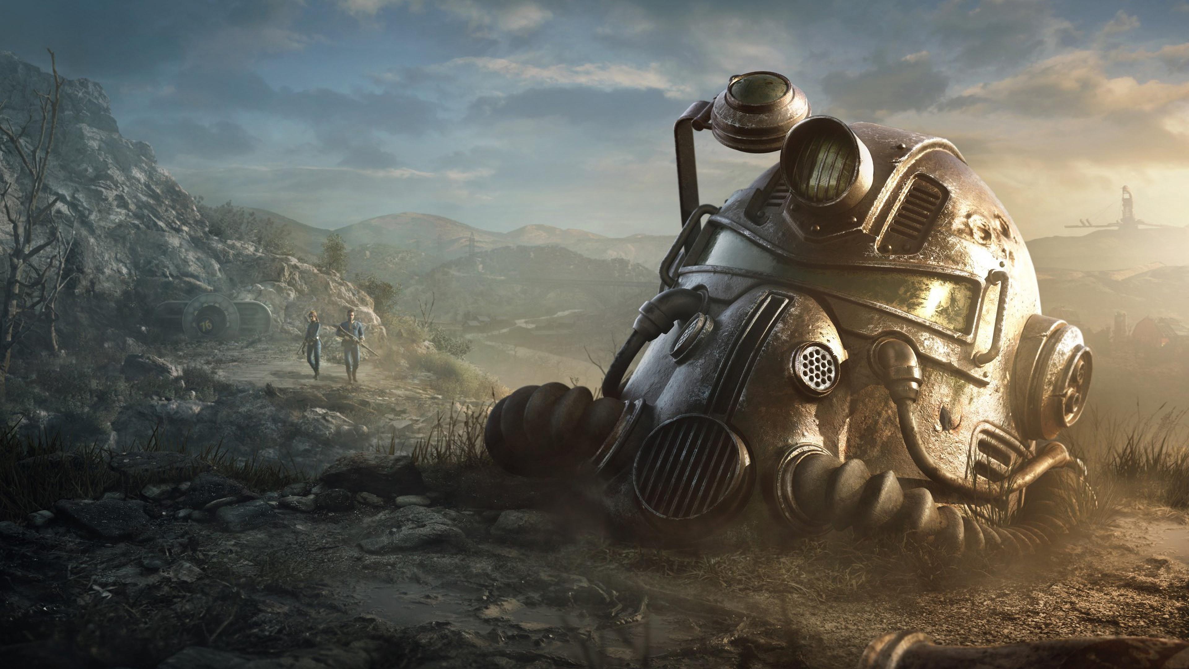 Wallpaper Fallout 4 Helmet 3840x2160 Uhd 4k Picture Image