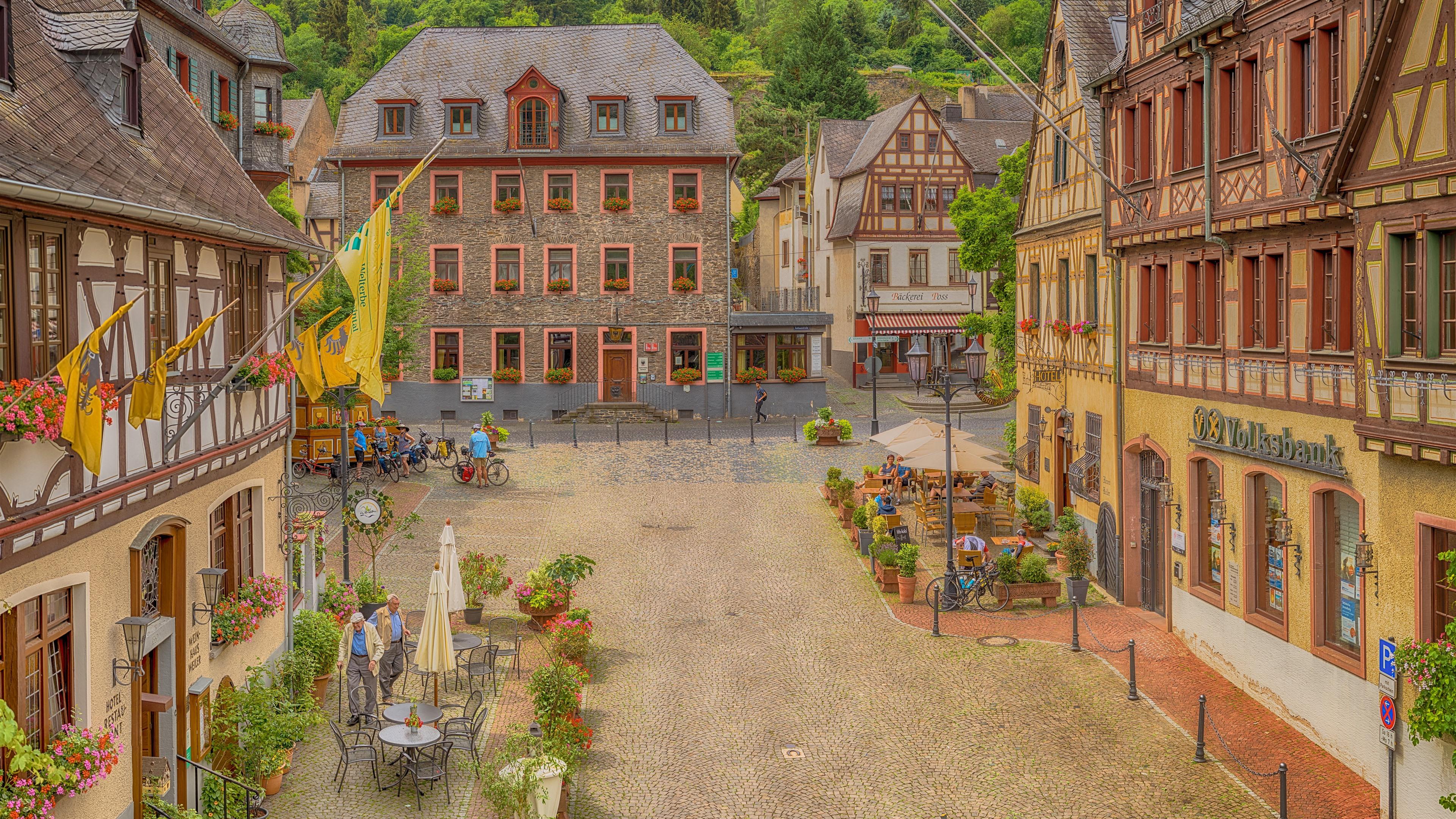 Обои красиво, лето, германия. Города foto 8