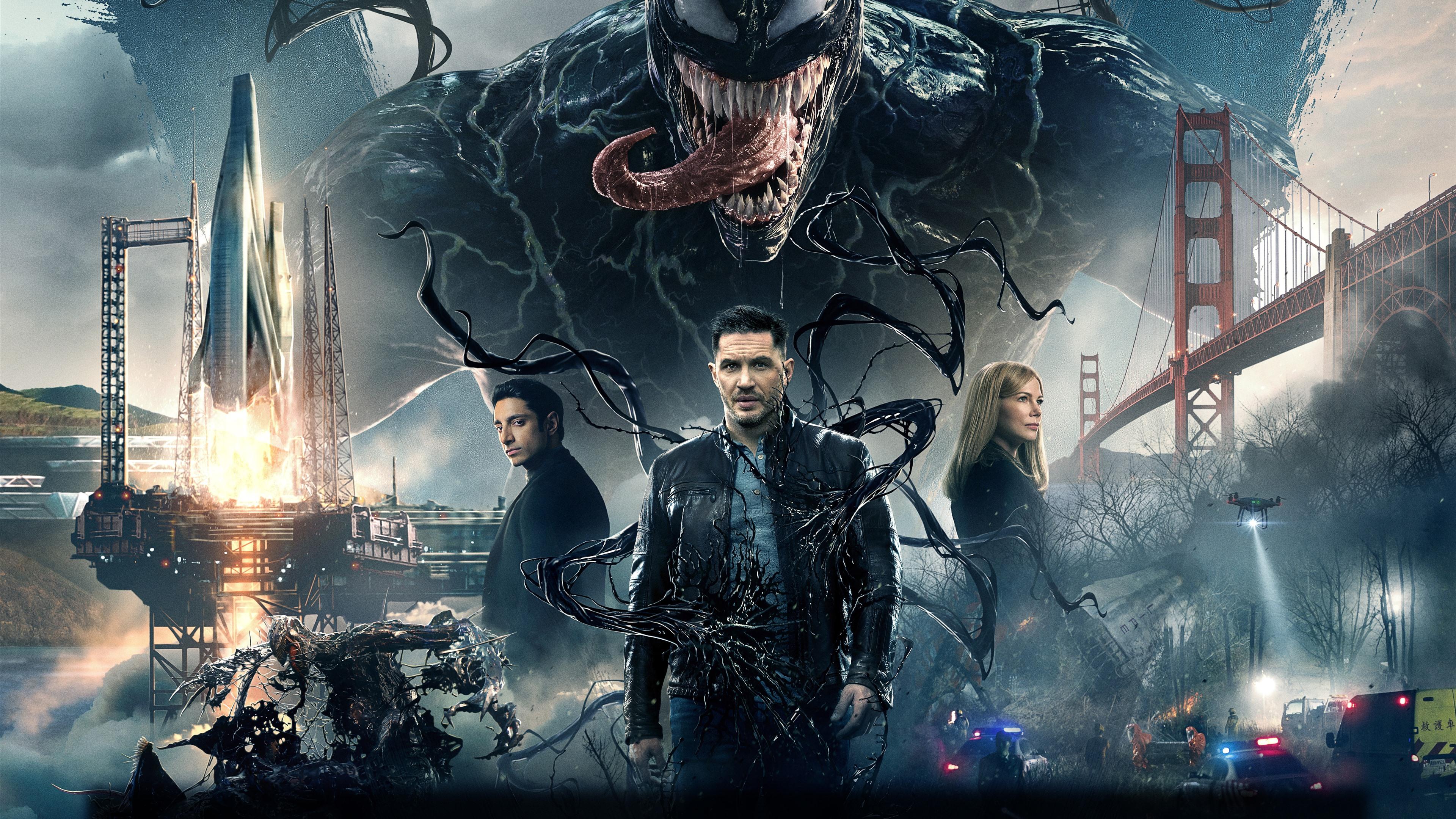 Movie Poster 2019: Venom 2018 Film 1242x2688 IPhone XS Max Hintergrundbilder