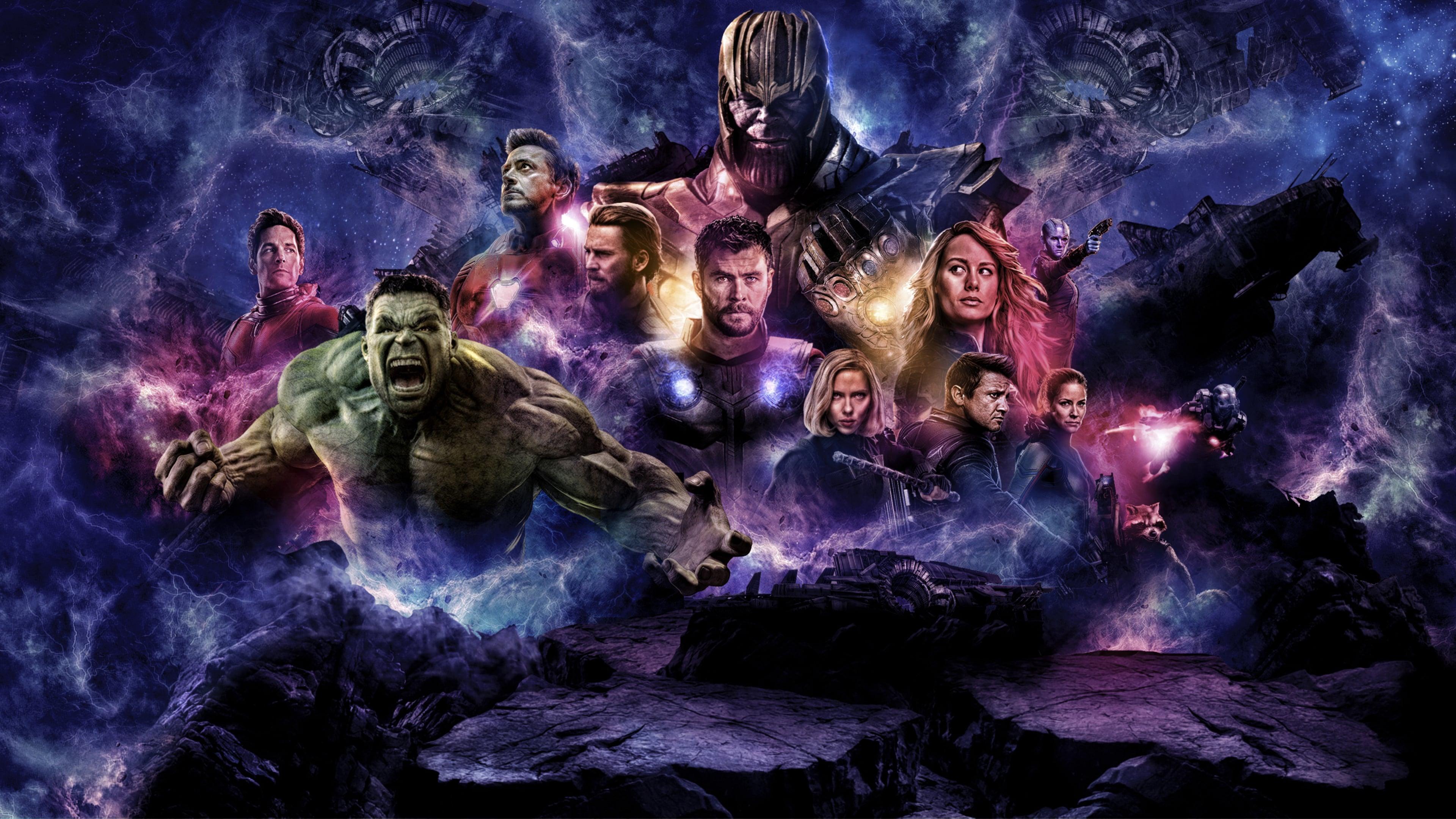 Wallpaper Avengers: Endgame, DC Comics movie 2019 ...