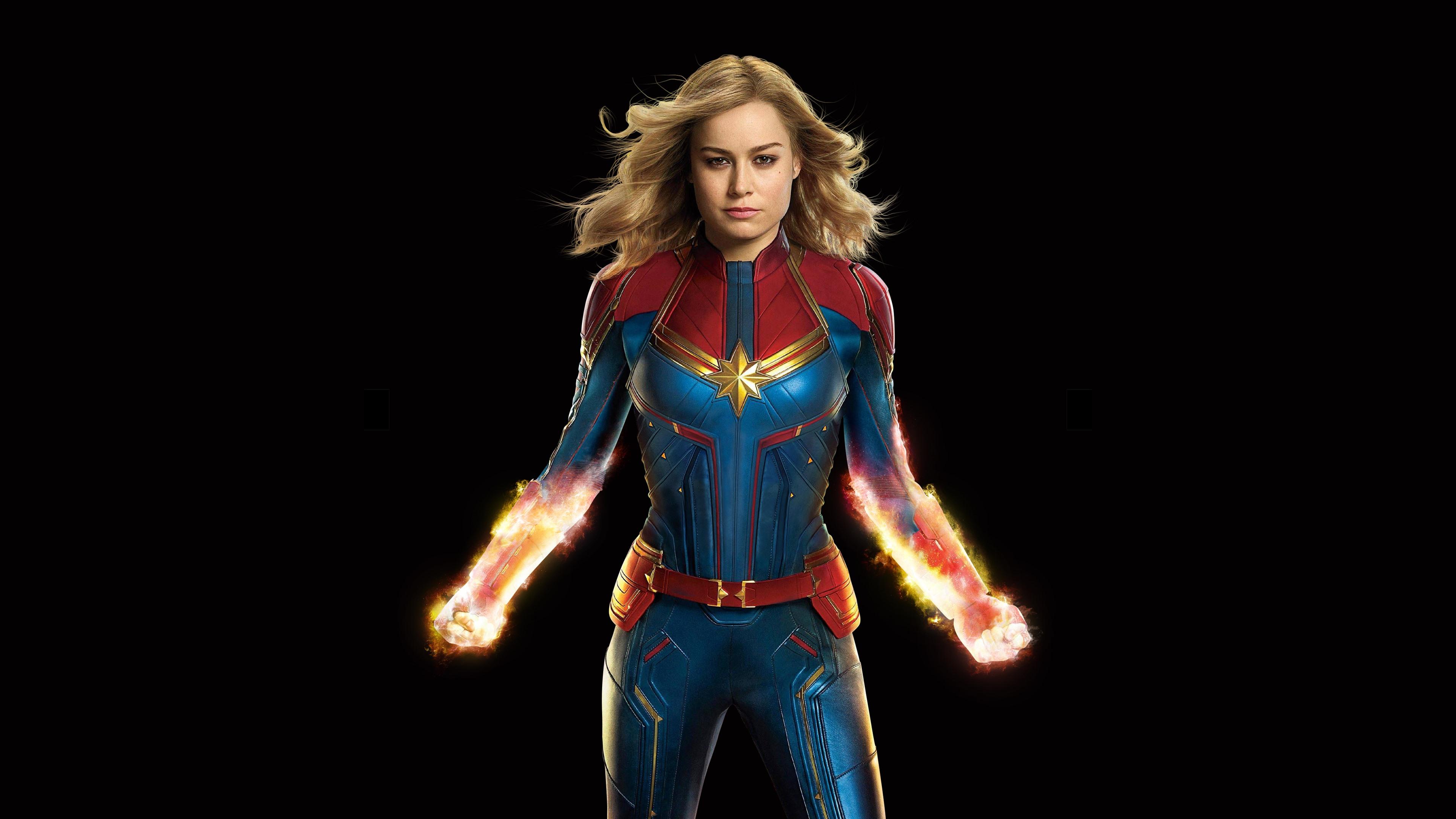 Wallpaper Captain Marvel Superhero Dc Comics 3840x2160 Uhd 4k