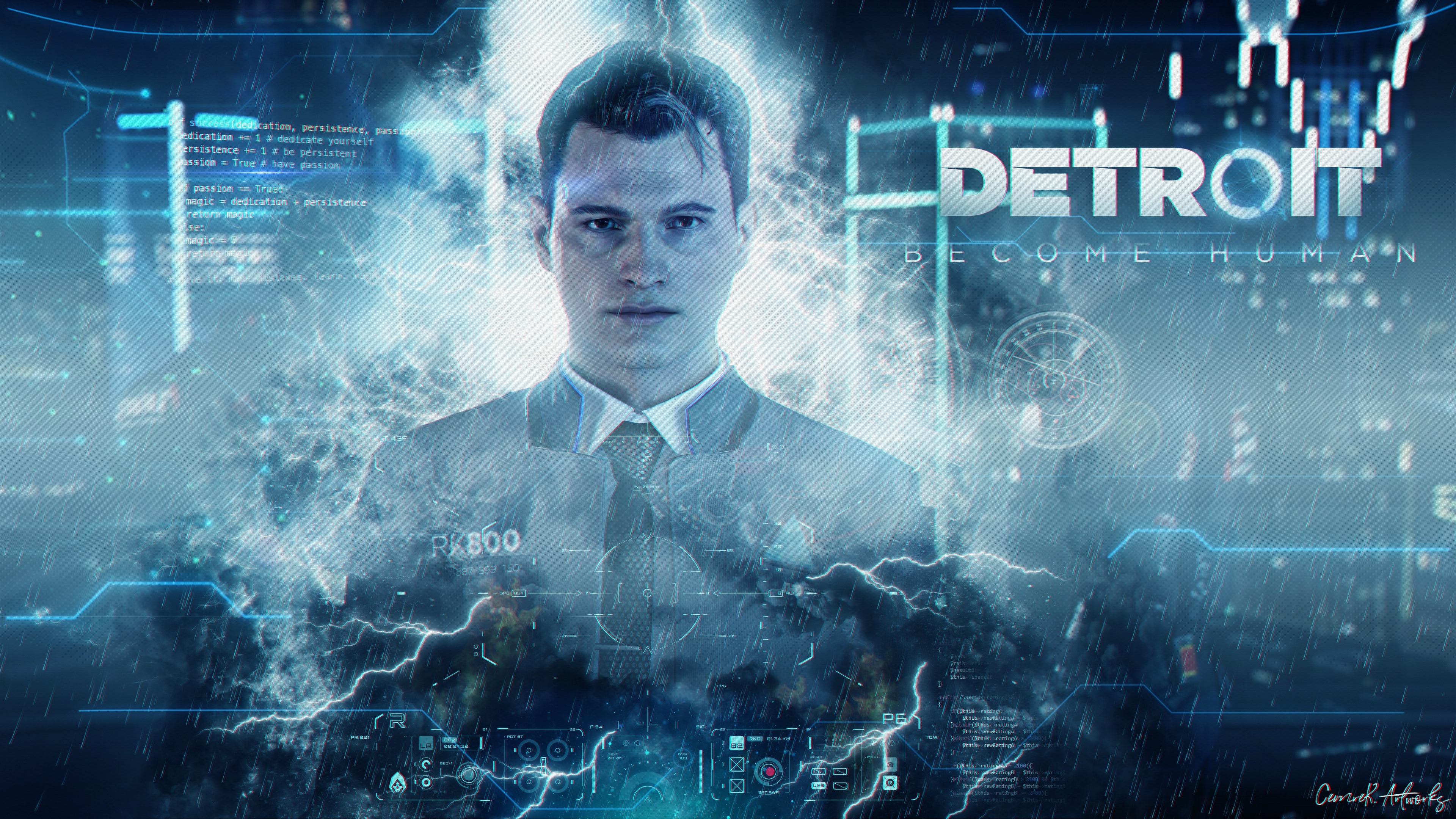 Wallpaper Detroit Become Human 3840x2160 Uhd 4k Picture Image