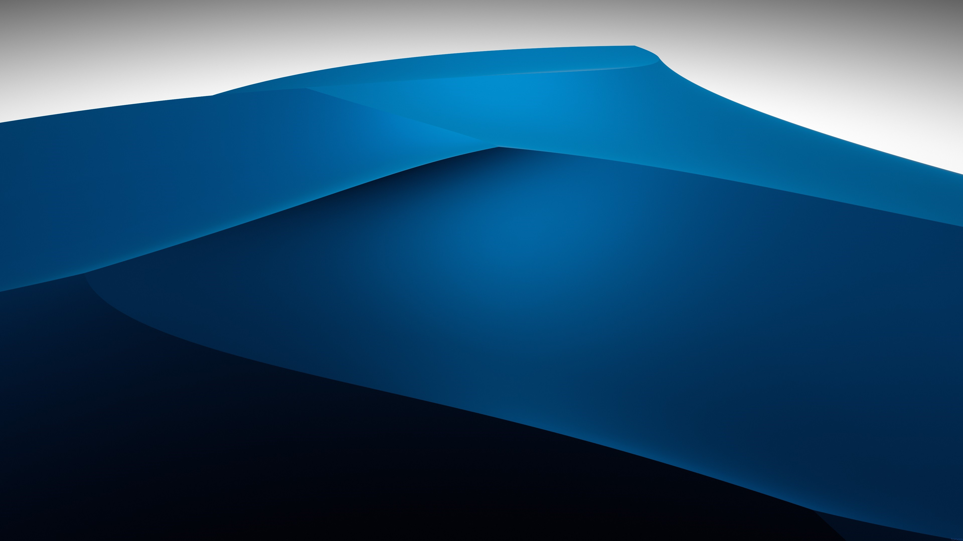 Wallpaper Abstract Blue Mountains 3840x2160 Uhd 4k Picture Image