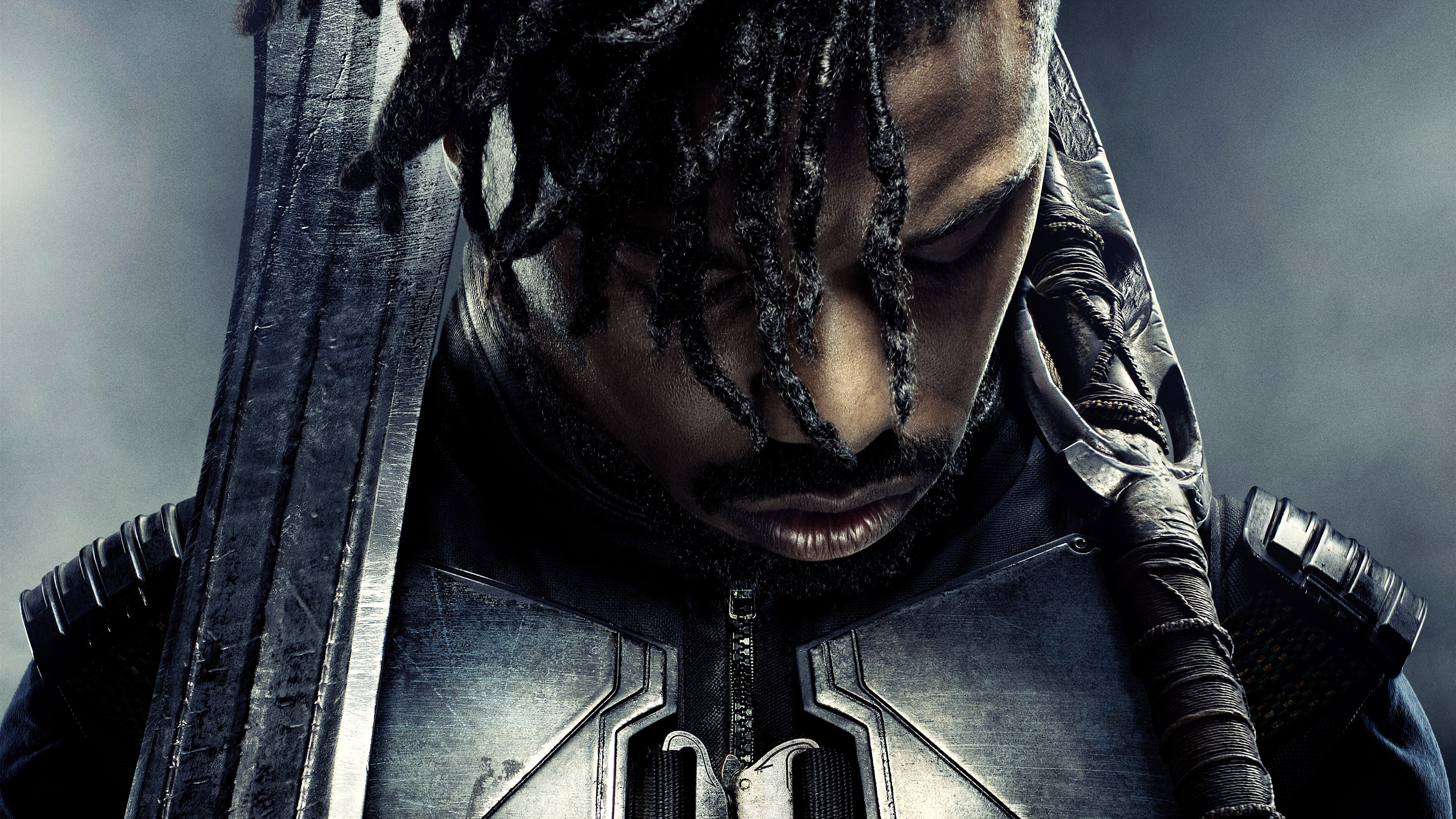Michael B Jordan Black Panther 1242x2688 Iphone 11 Pro Xs Max Wallpaper Background Picture Image