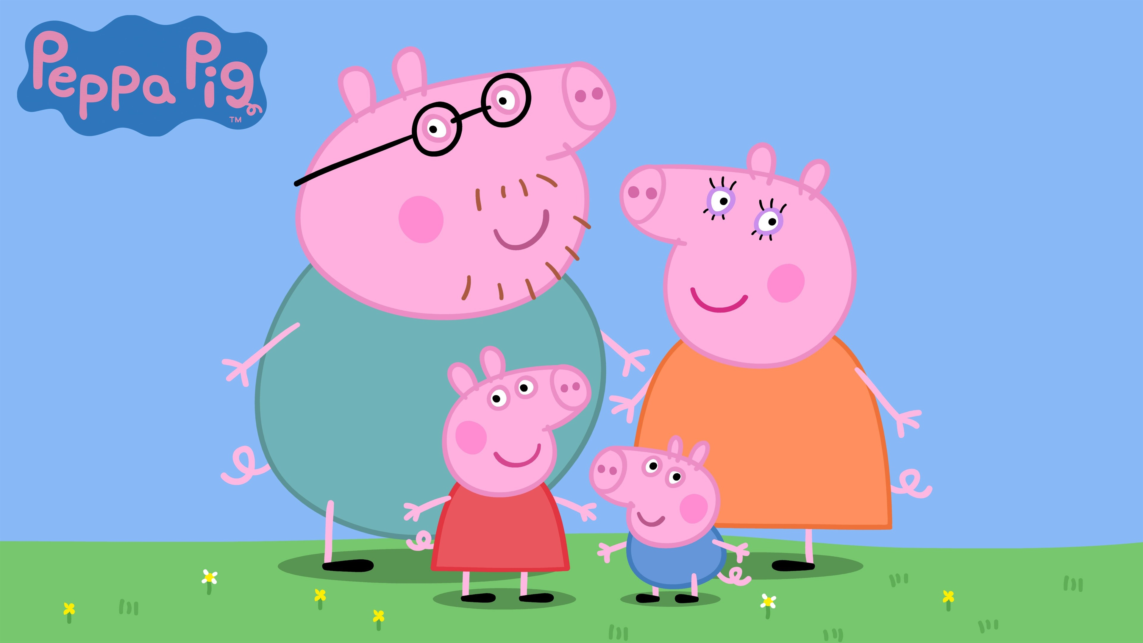 Wallpaper Peppa Pig Classic Anime 3840x2160 Uhd 4k Picture