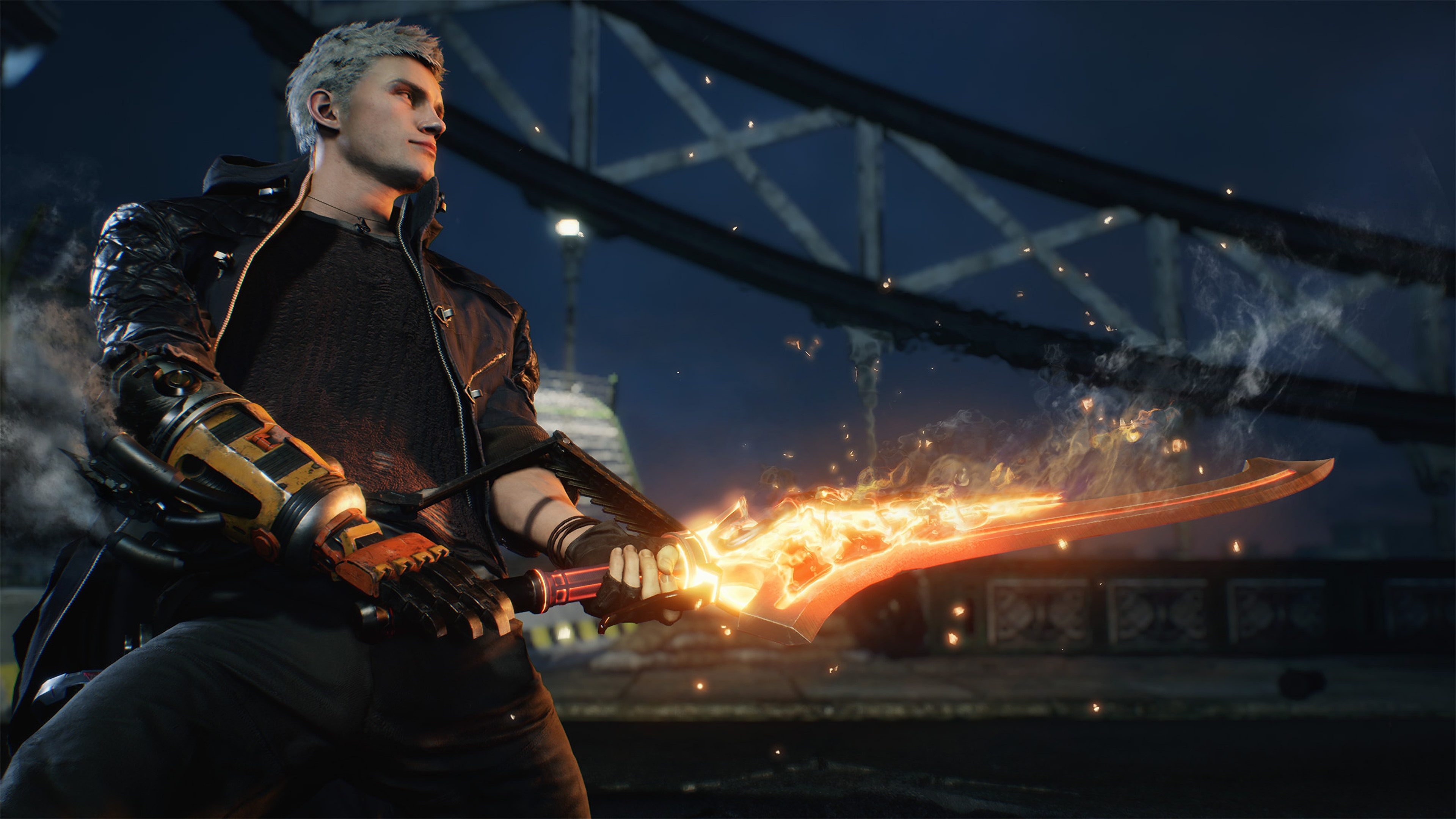 Wallpaper Devil May Cry 5 Sword Magic 3840x2160 Uhd 4k