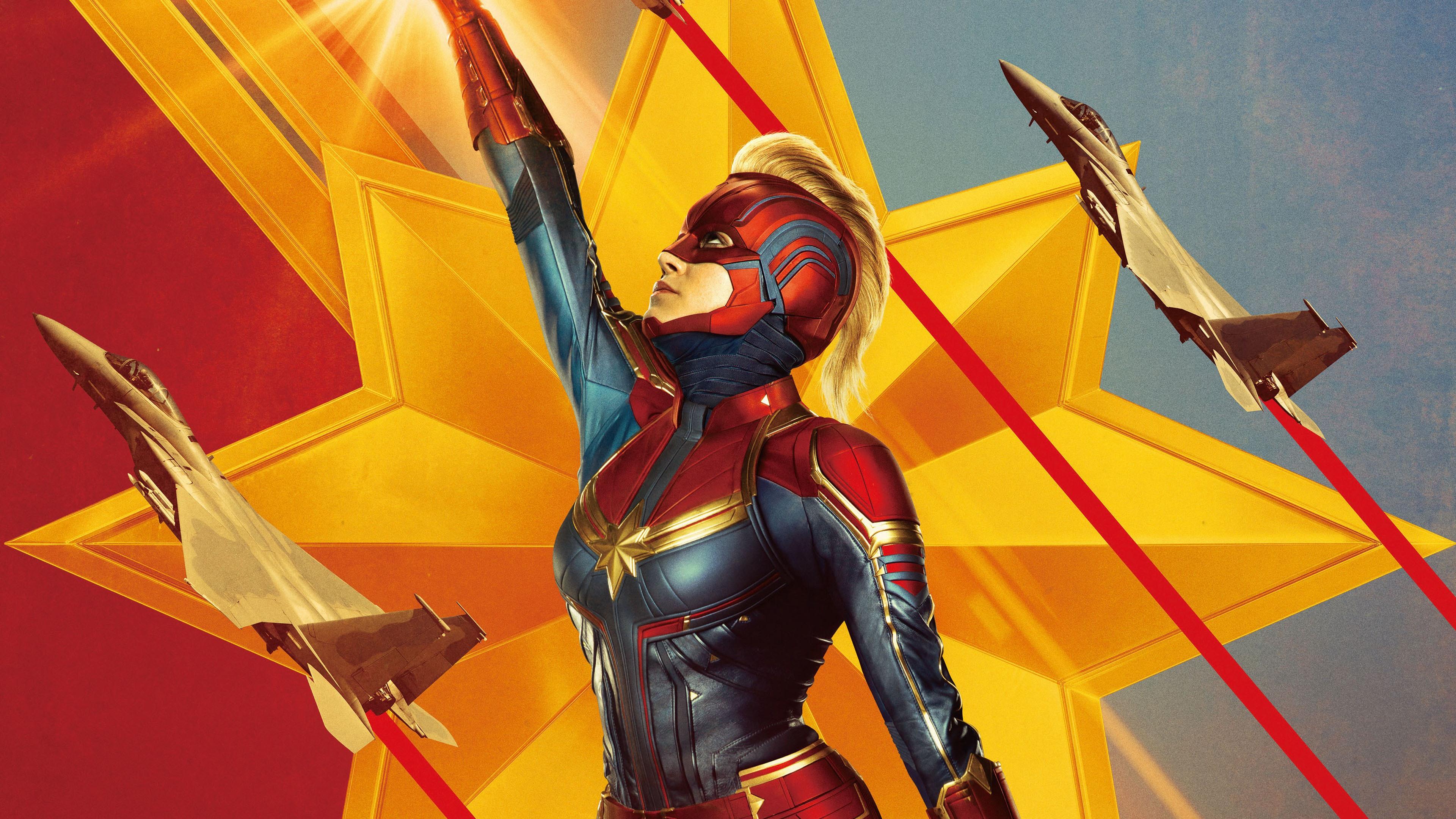 Wallpaper Captain Marvel 2019 Movie 3840x2160 Uhd 4k