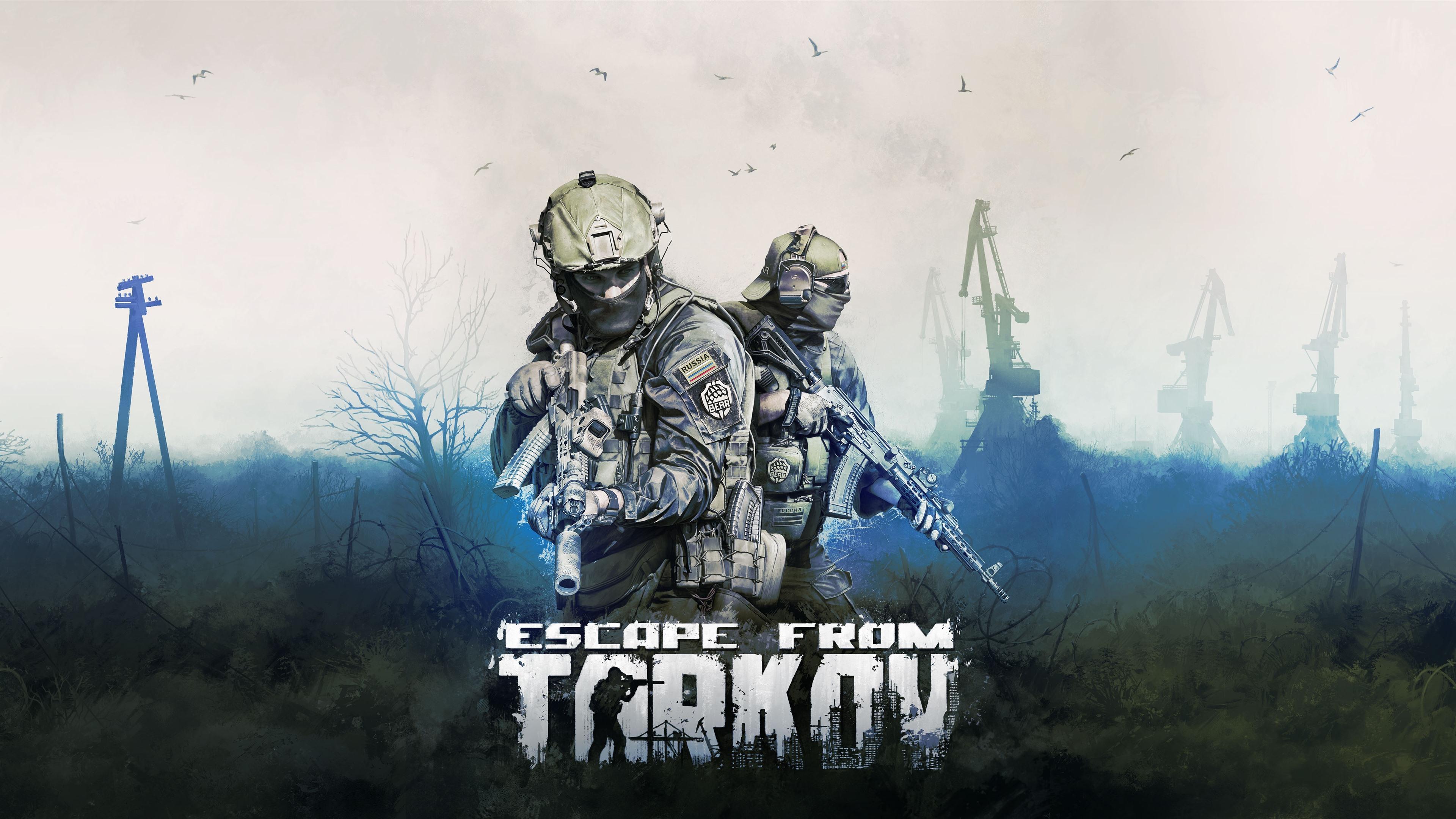 Wallpaper Escape From Tarkov Video Game 3840x2160 Uhd 4k