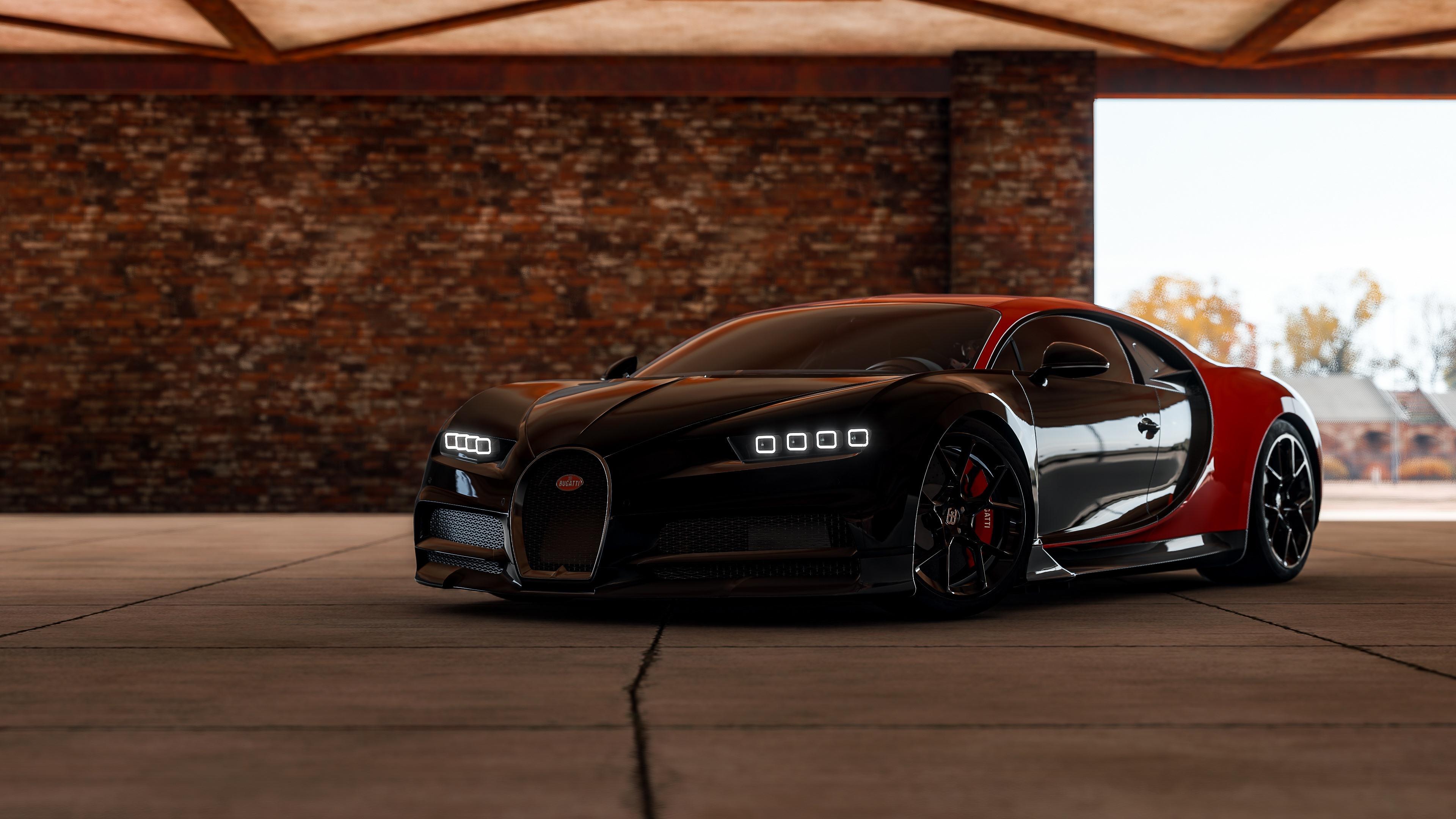 Wallpaper Forza Horizon 4 Bugatti Supercar 3840x2160 Uhd 4k