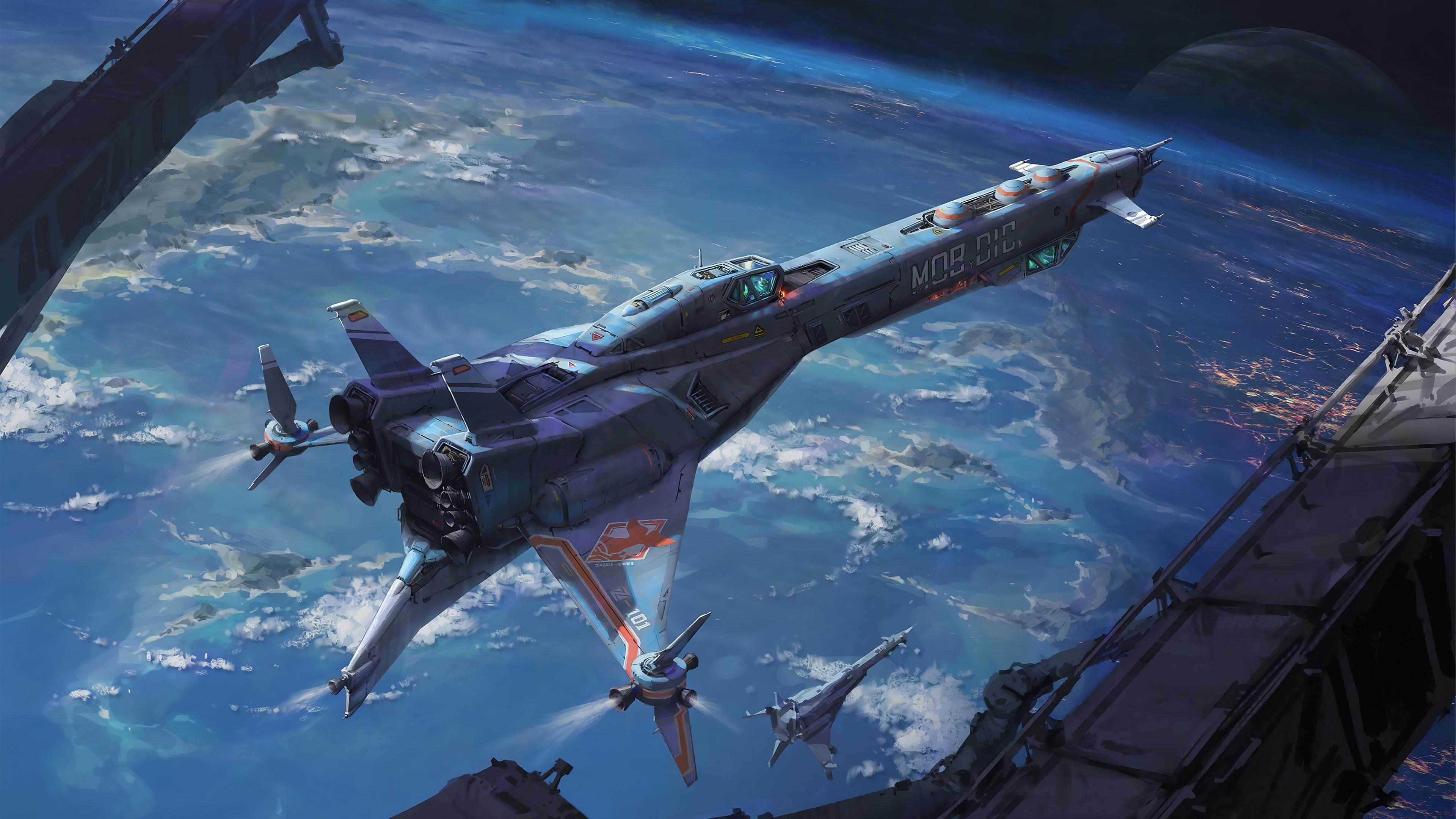 Арты космический корабль
