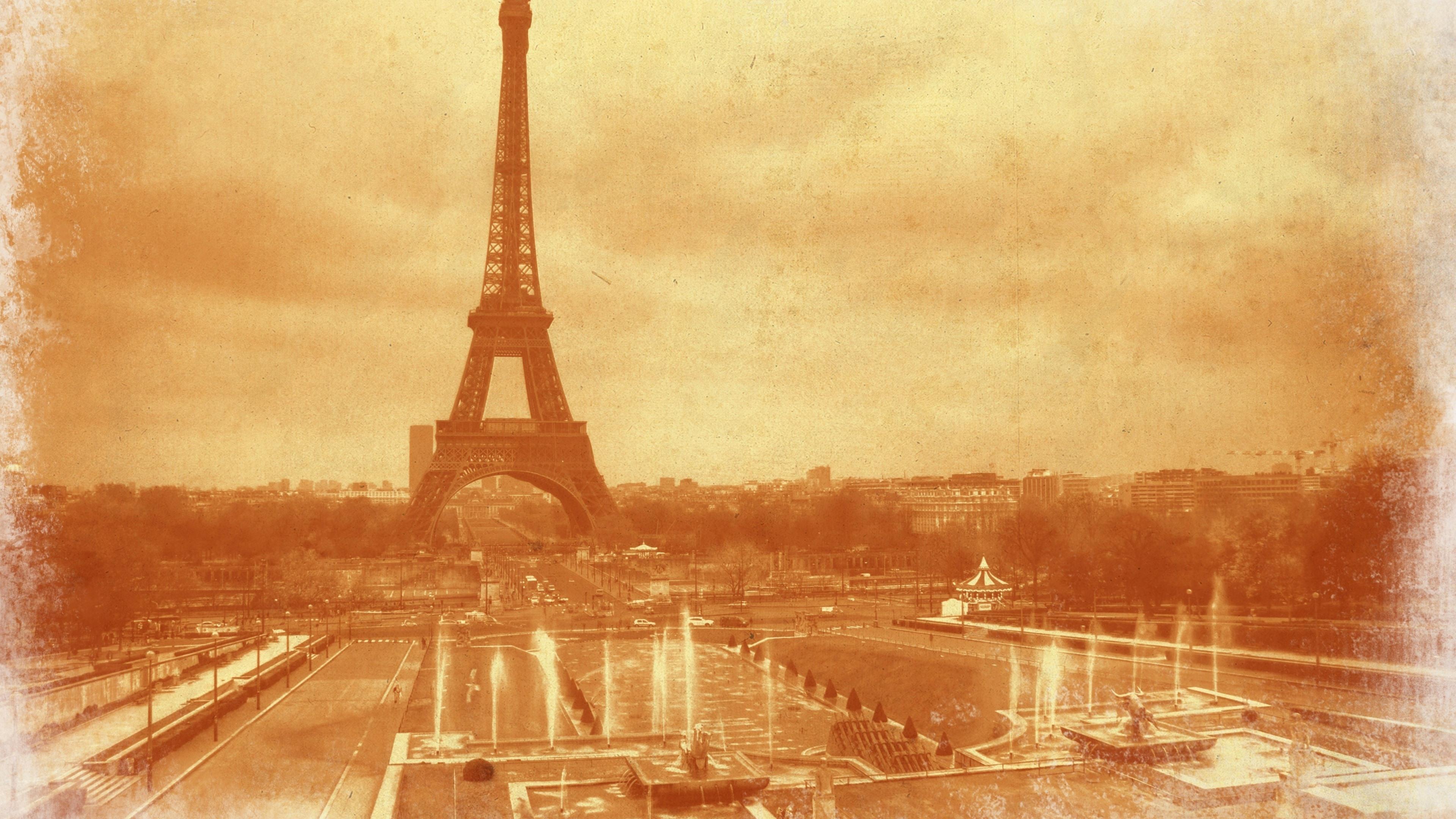 フランス エッフェル塔 古い写真 1080x1920 Iphone 8 7 6 6s Plus