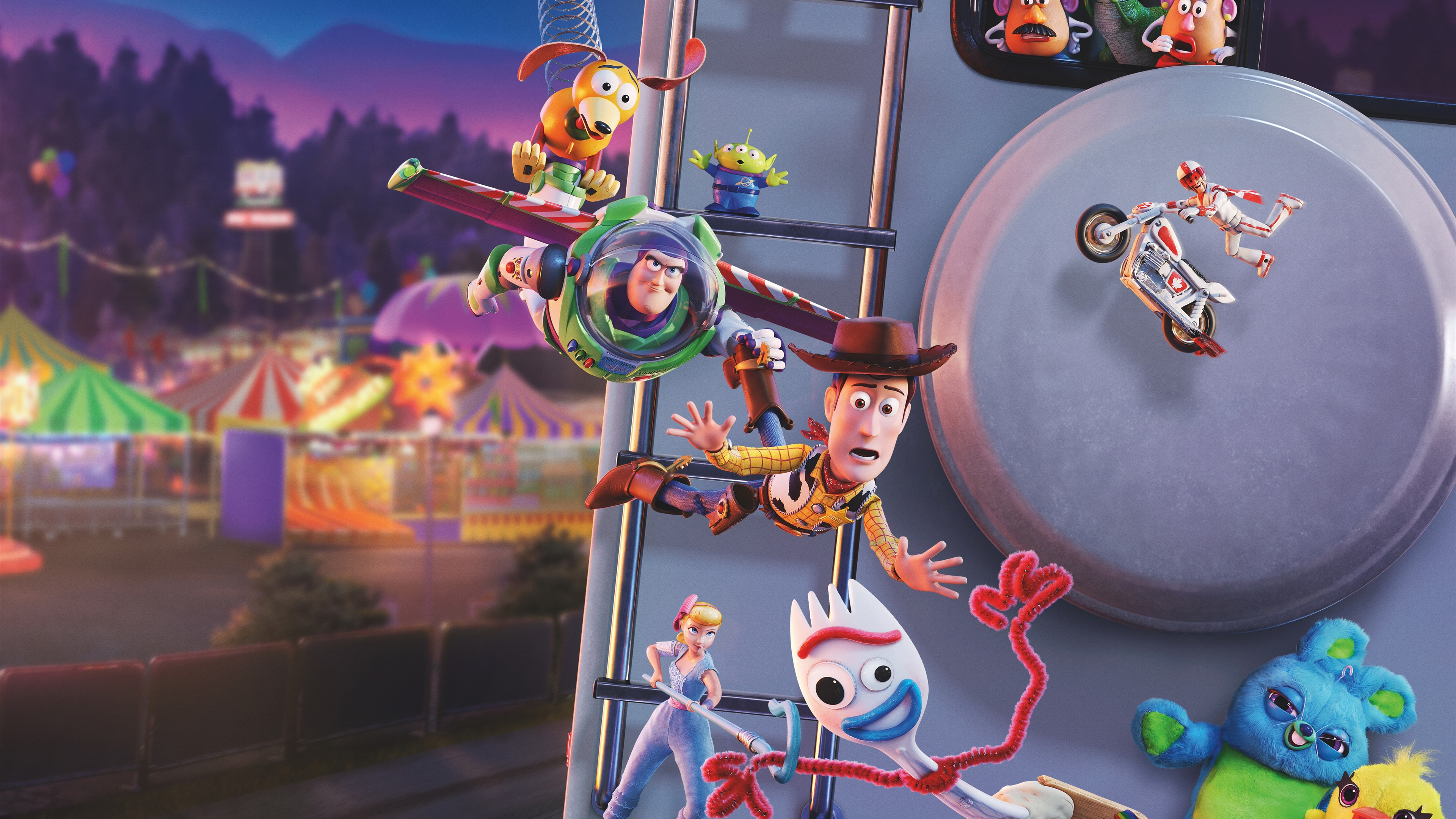 Toy Story 4 Disney Film 2019 3840x2160 Uhd 4k
