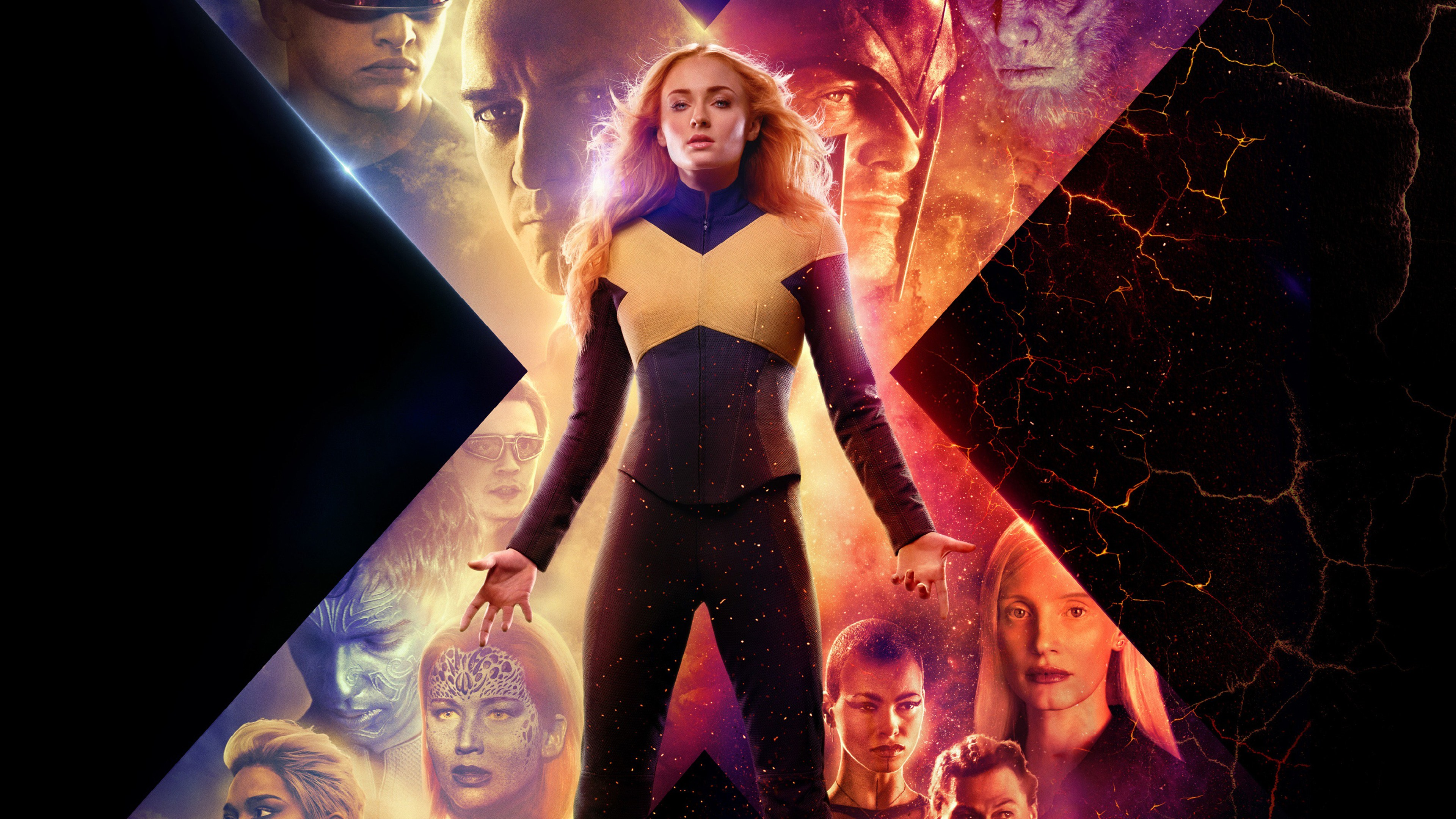 Wallpaper X Men Dark Phoenix 2019 Movie 3840x2160 Uhd 4k Picture Image