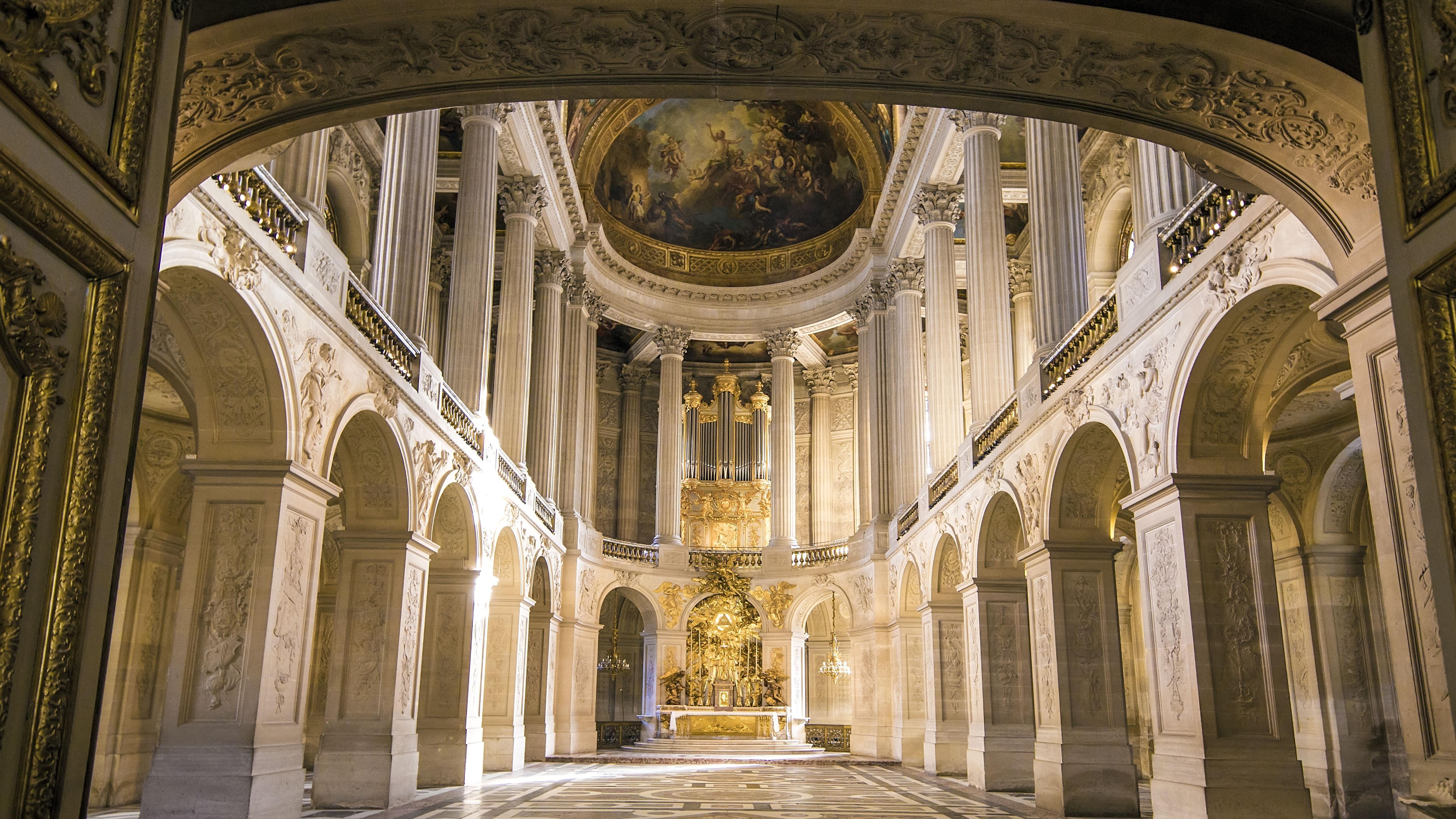 壁纸 法国巴黎凡尔赛宫 5120x2880 Uhd 5k 高清壁纸 图片 照片