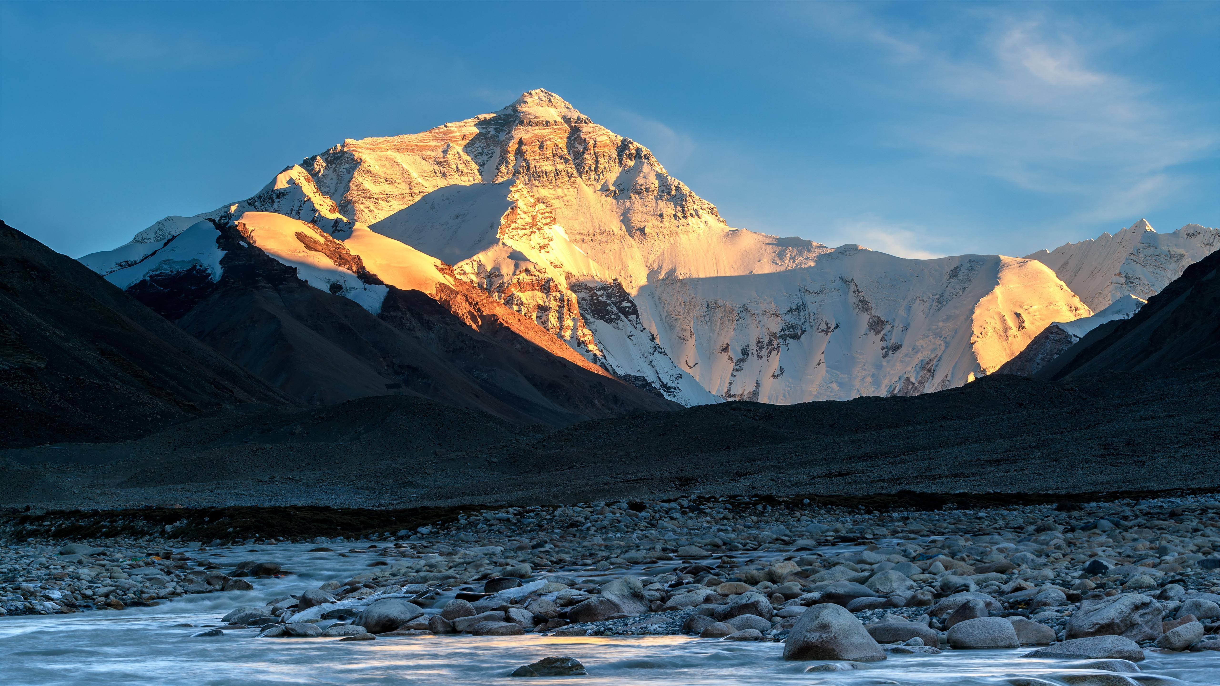 Fonds D écran Montagnes Couvertes De Neige Pierres