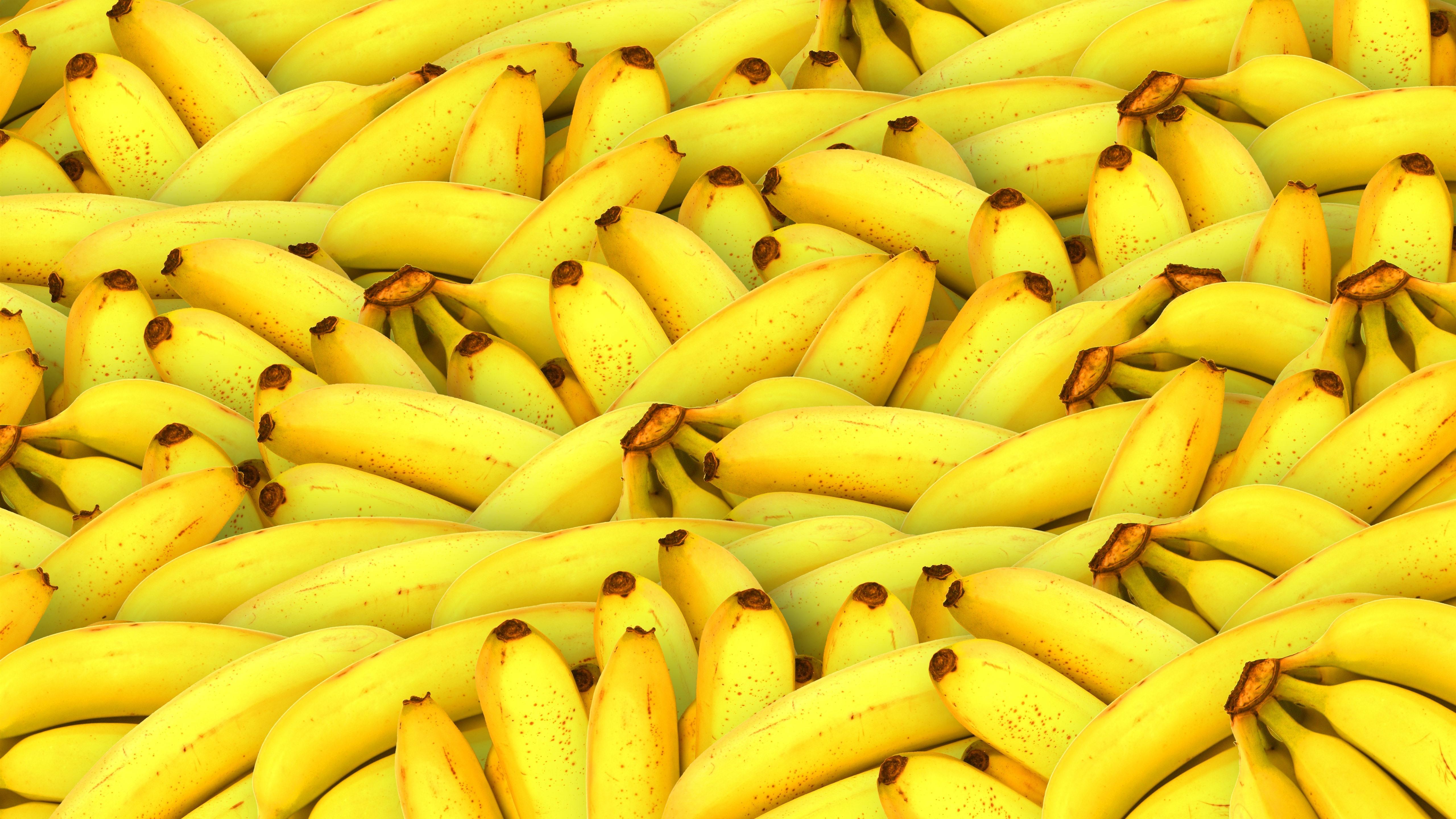 壁紙 多くのバナナ 果物 5120x2880 Uhd 5k 無料のデスクトップの背景