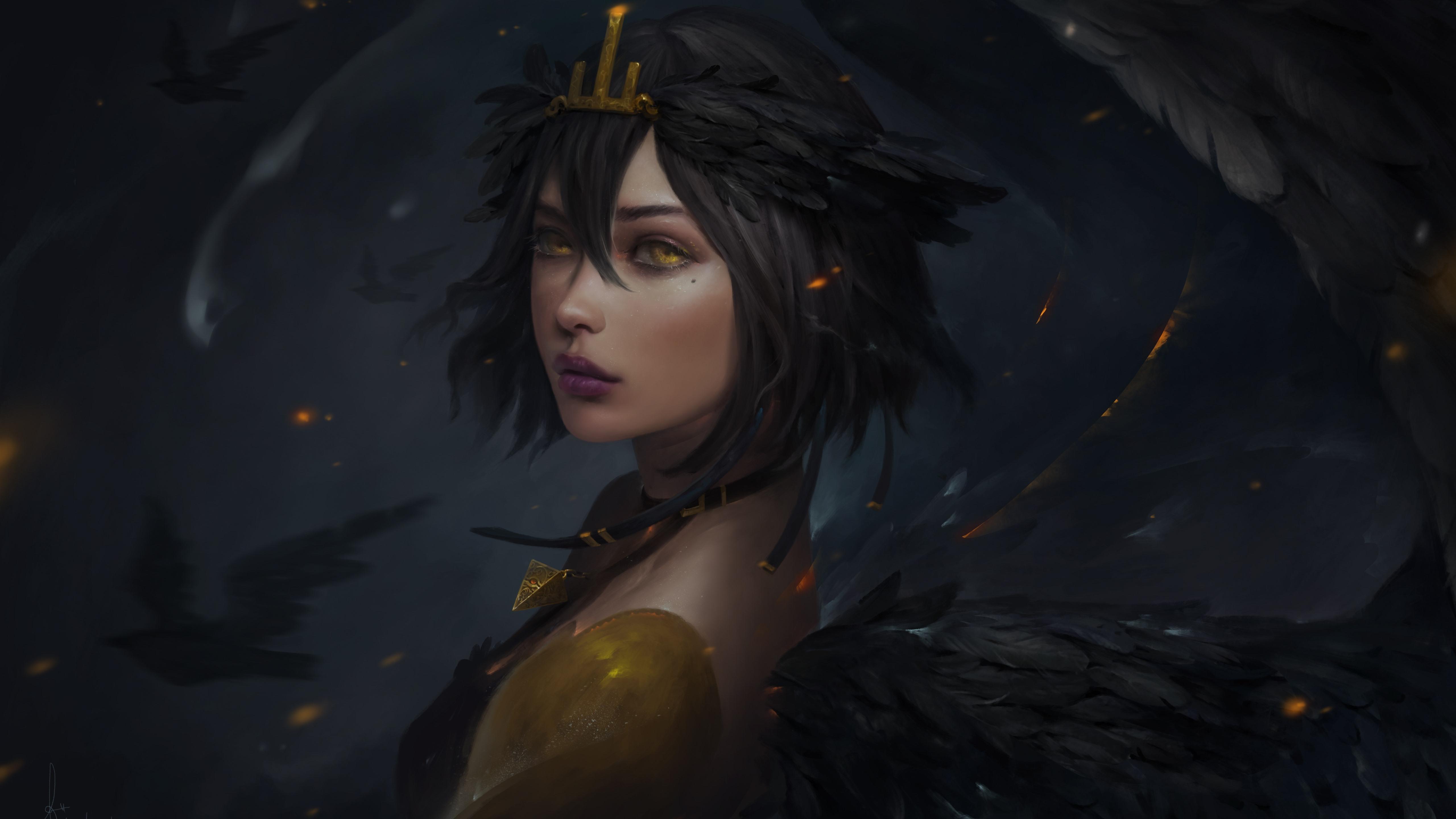 Fantasy Digital Art Woman 512 X 512