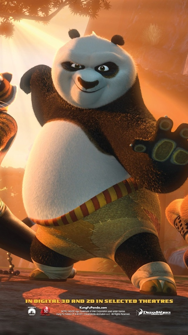 2011 Kung Fu Panda 2 640x1136 Iphone 5 5s 5c Se Wallpaper Background Picture Image