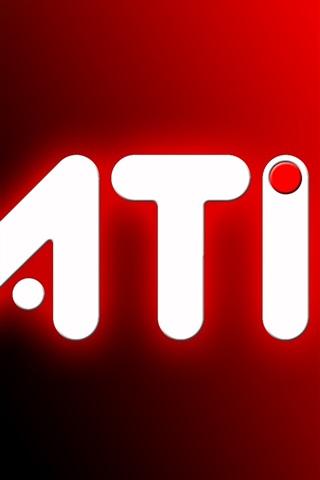 iPhone 배경 화면 AMD와 ATI의