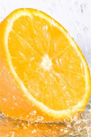 iPhone 배경 화면 레몬 매력