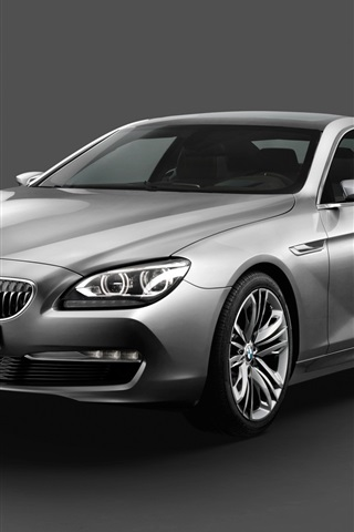 iPhone 배경 화면 자동차 BMW는 6 시리즈 쿠페 컨셉 2010