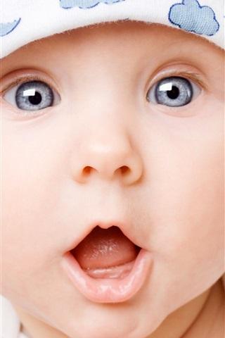 iPhone 배경 화면 귀여운 아기 놀라운