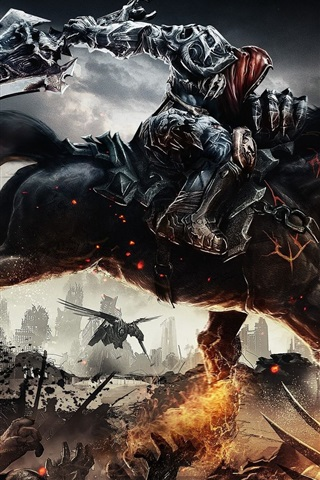 iPhone Wallpaper Darksiders Wrath of War