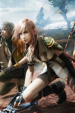iPhone Papéis de Parede Final Fantasy 13