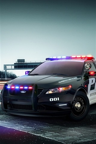 iPhone Wallpaper Ford Police Interceptor Concept