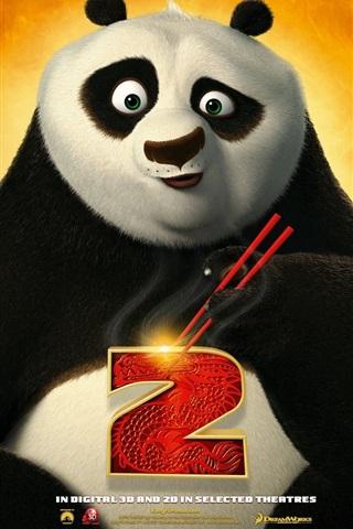 iPhone Hintergrundbilder Kung Fu Panda 2