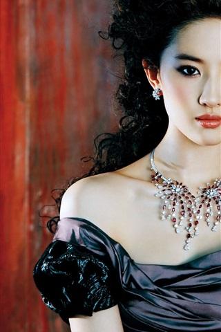 iPhone Papéis de Parede Liu Yifei